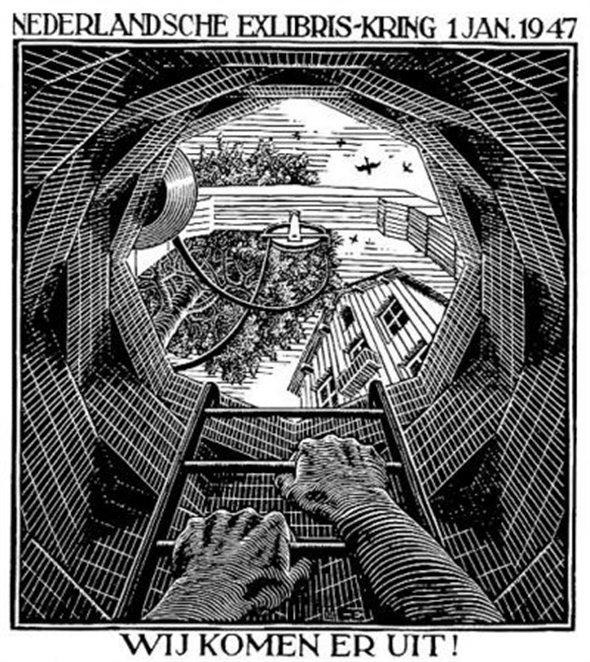 The Well by M.C. Escher
