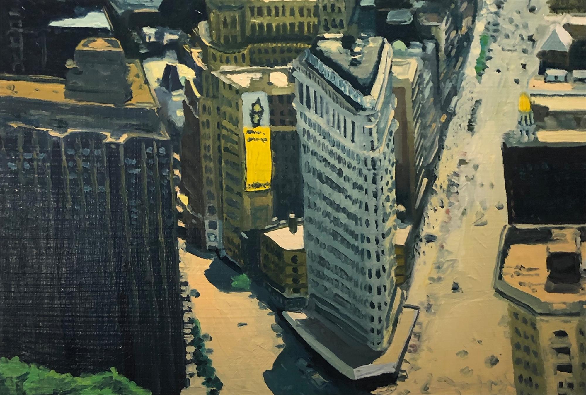 NYC Study XV by David Leonard