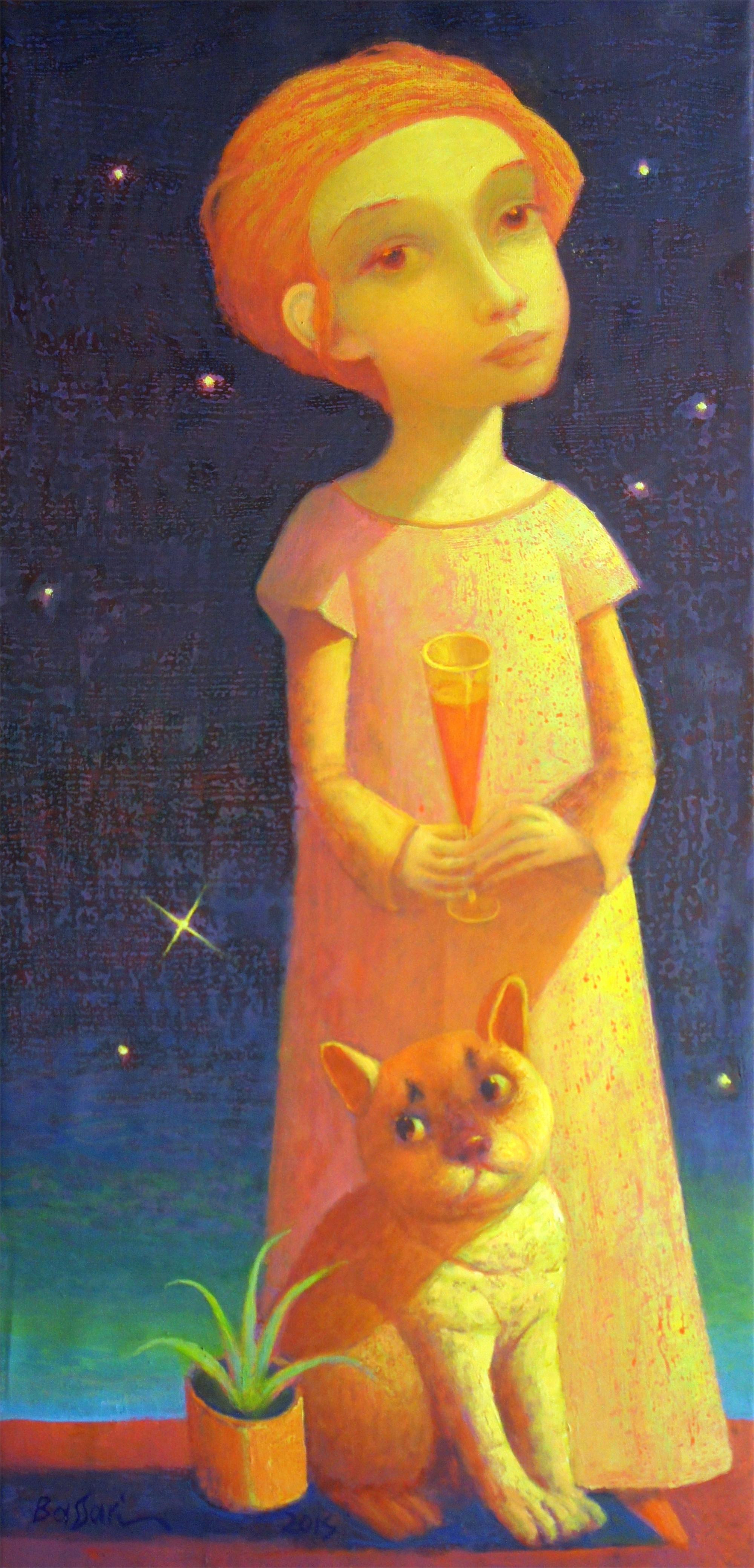 Night Meeting by Sasha Bassari