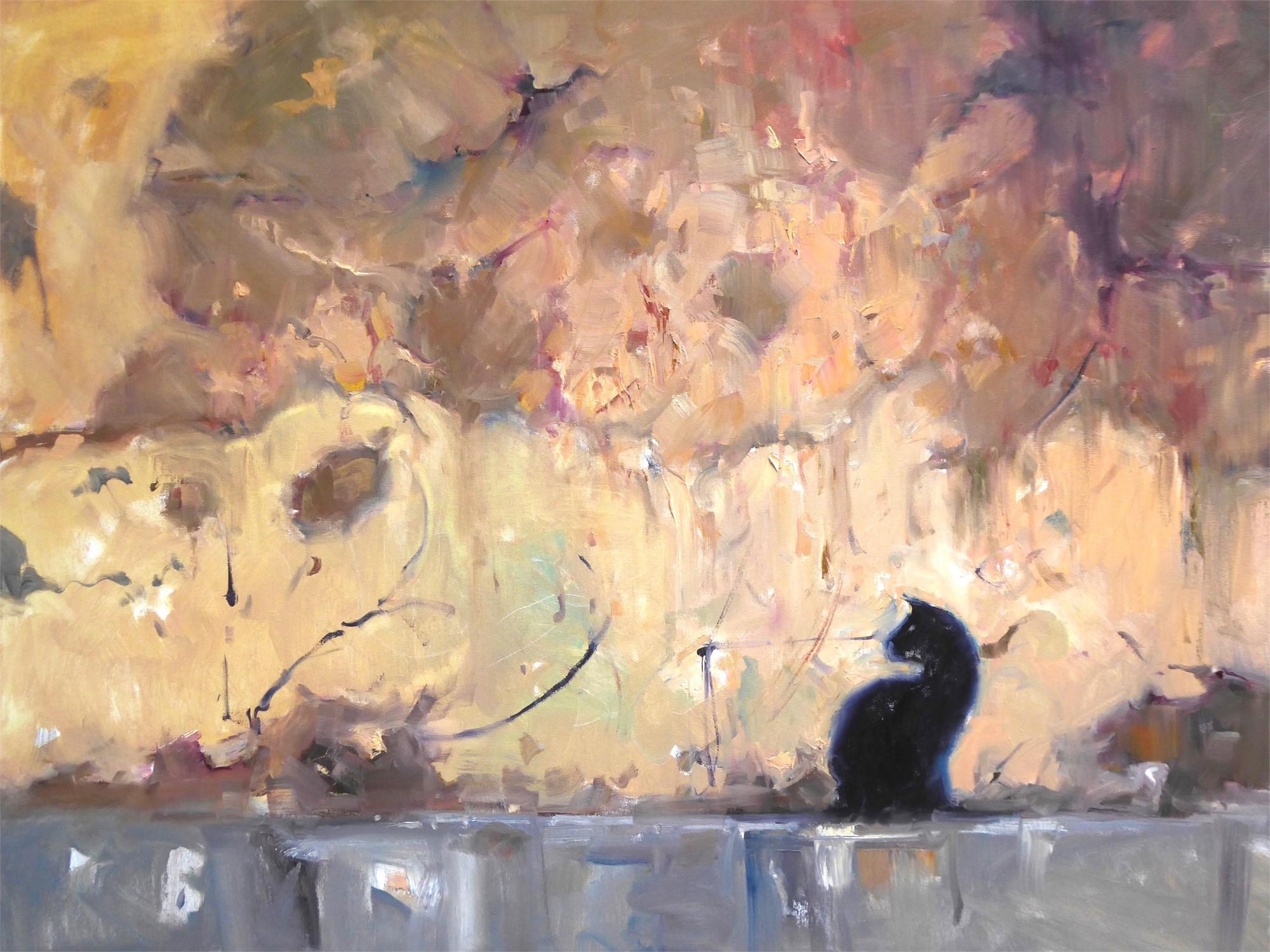 Cat on a Hot Tin Roof by Dee Beard Dean