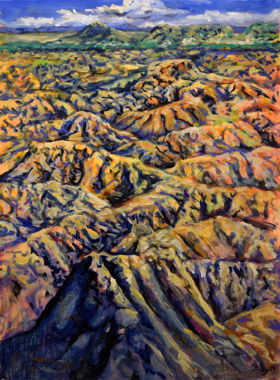 Terlingua Canyon 3 by Earl Staley