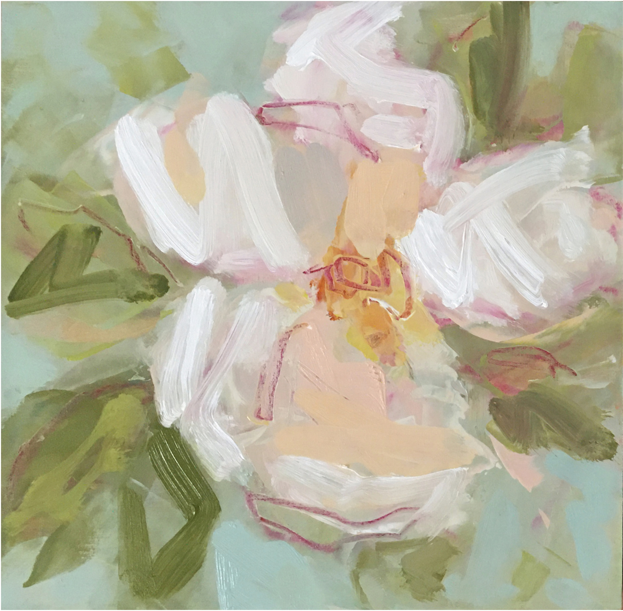 Tea Rose I by Lynn Johnson