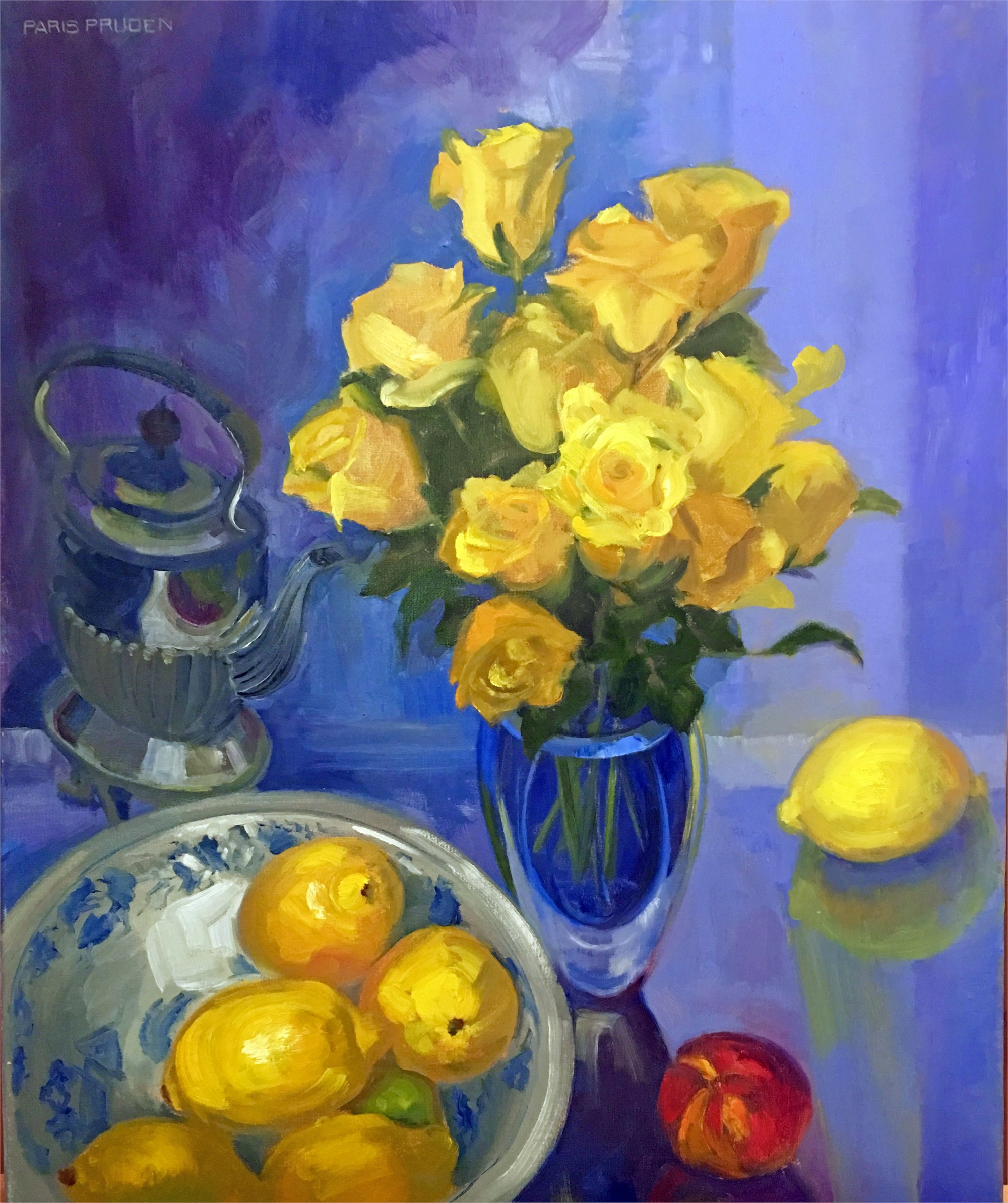 Yellow Roses  by Nancy Paris Pruden
