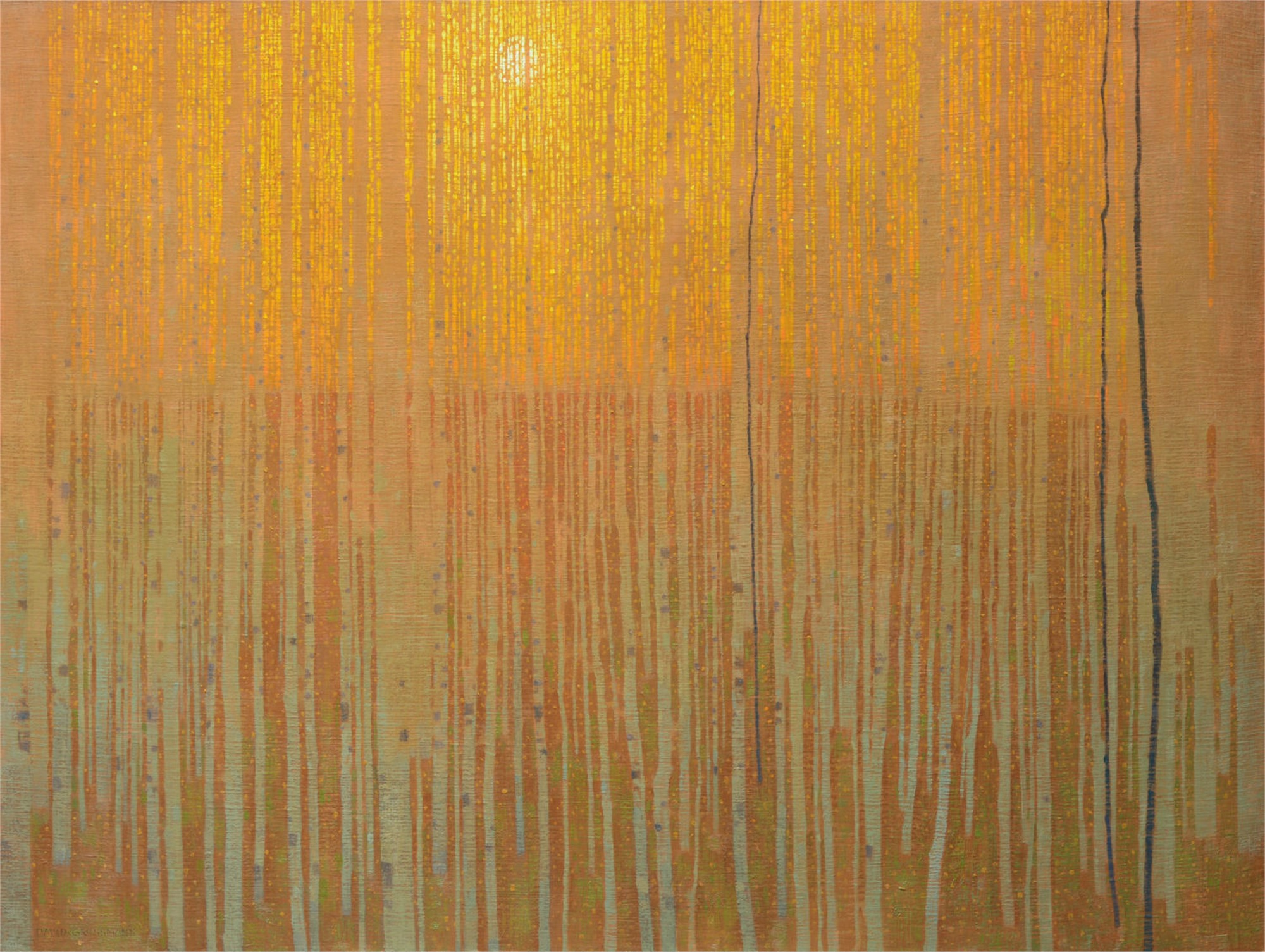 Autumn Forest Patterns by David Grossmann