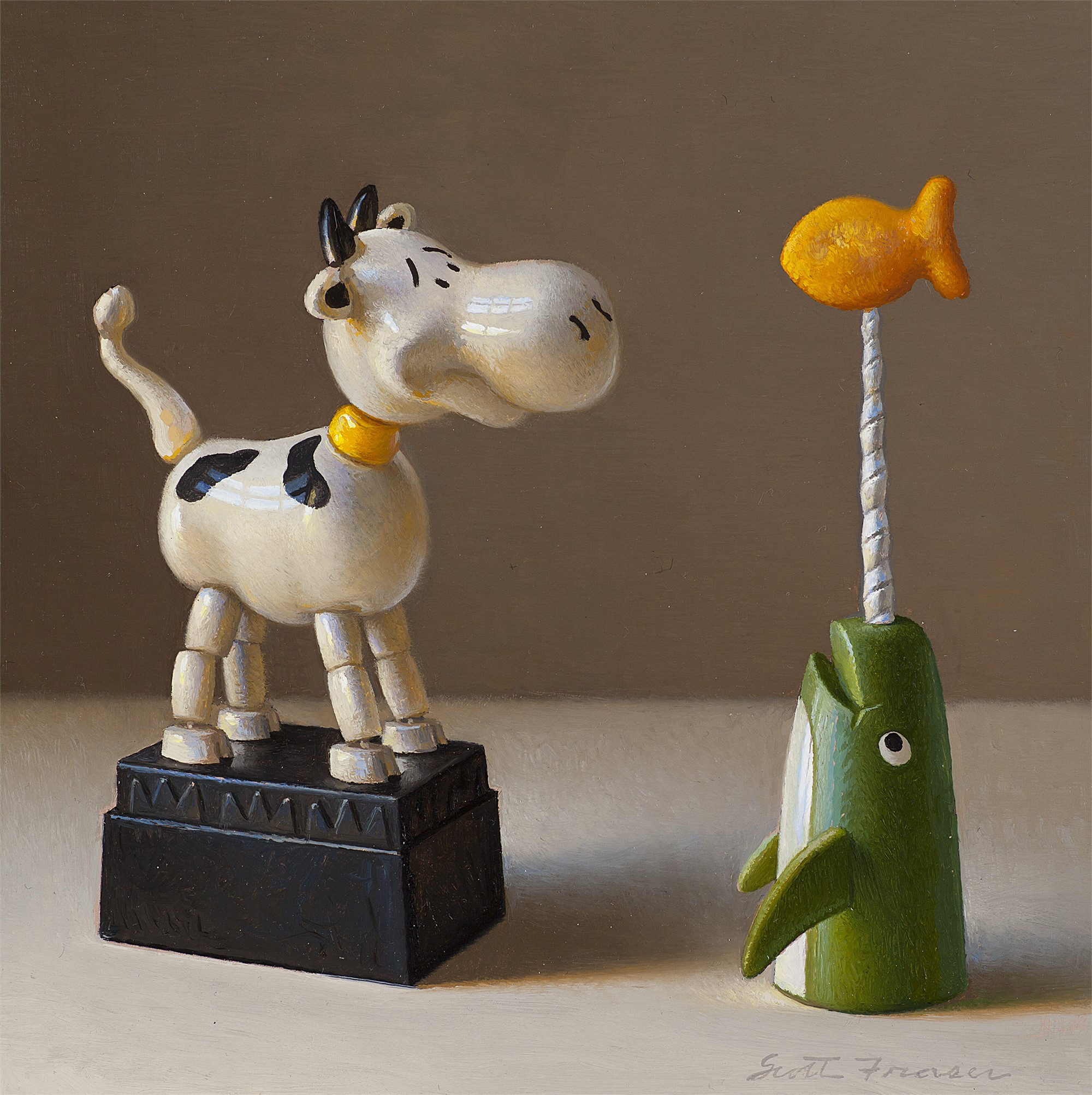 Cow and the Narwhal by Scott Fraser