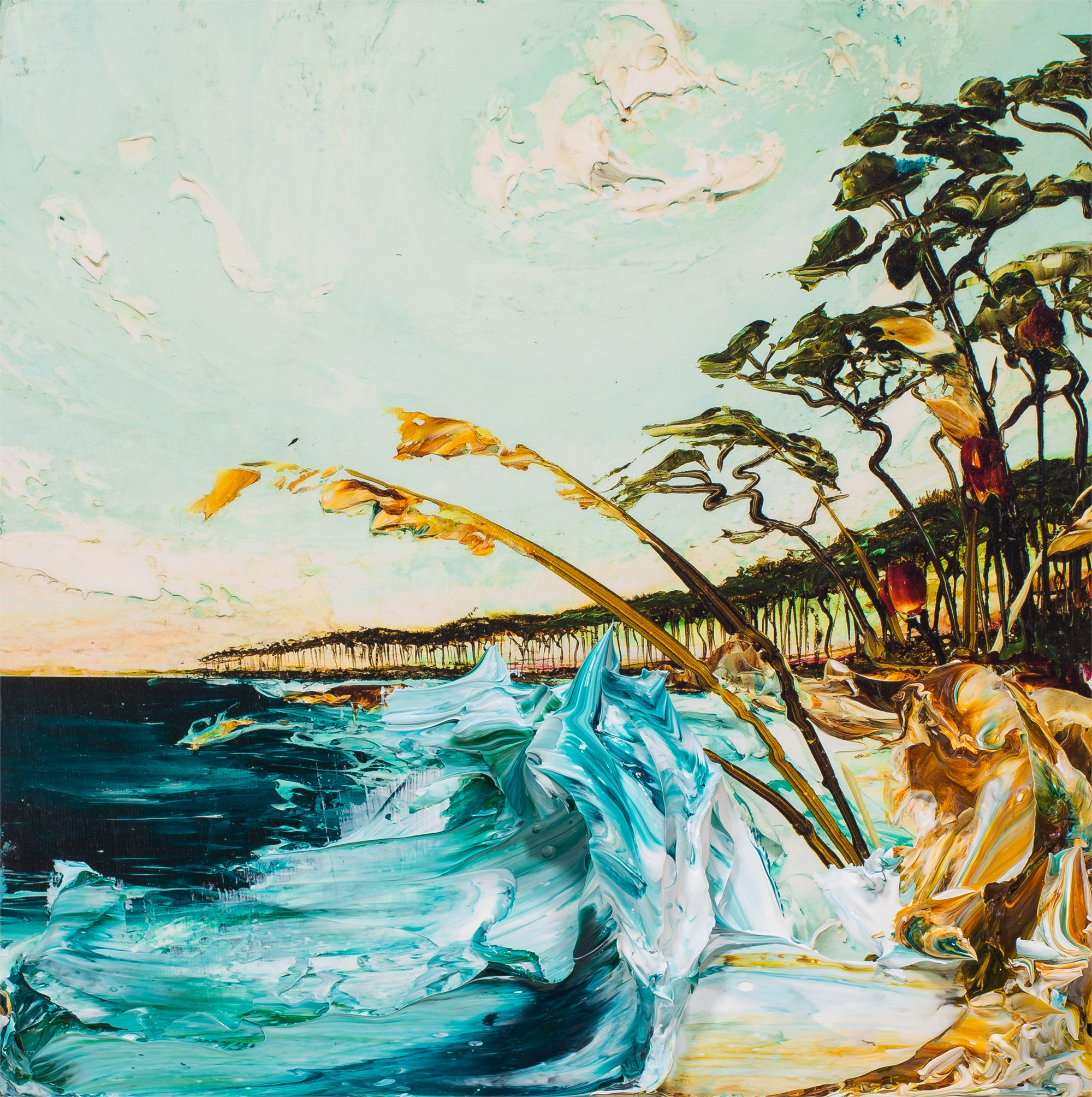 (SOLD)SEASCAPE HPAE 28/50 by Justin Gaffrey