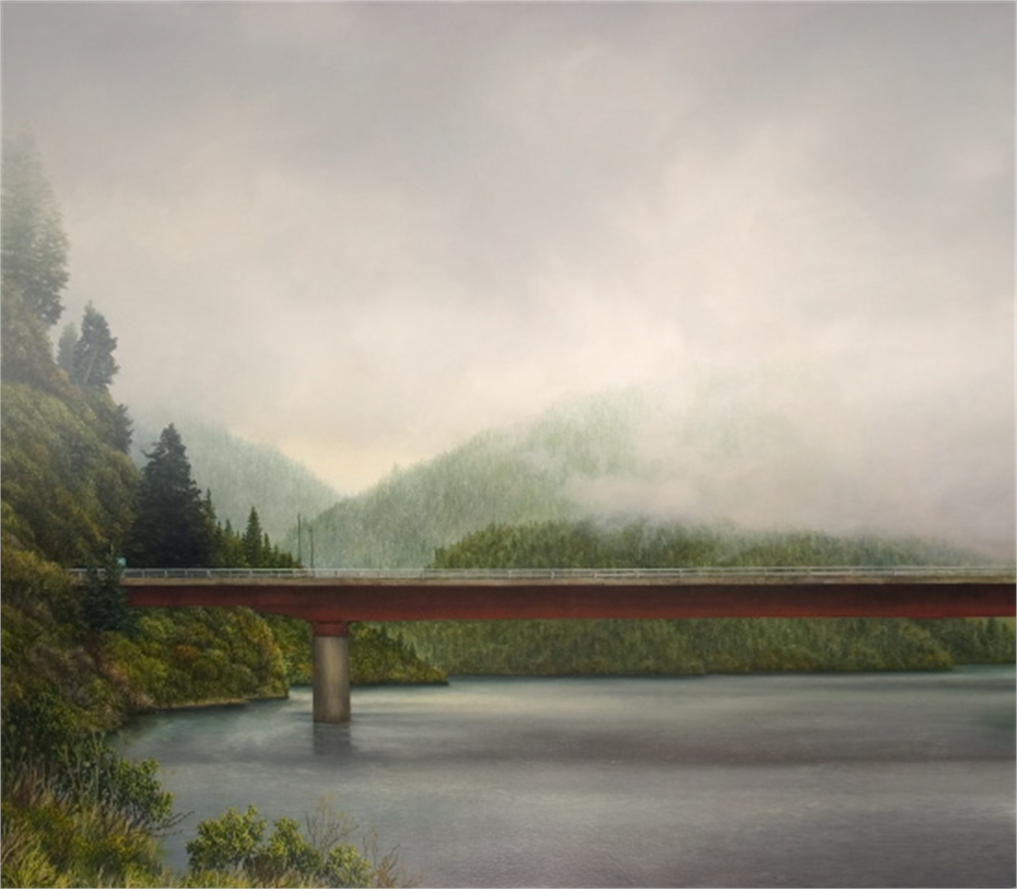 The Crossing (at Navarro River) by Robert Bissell