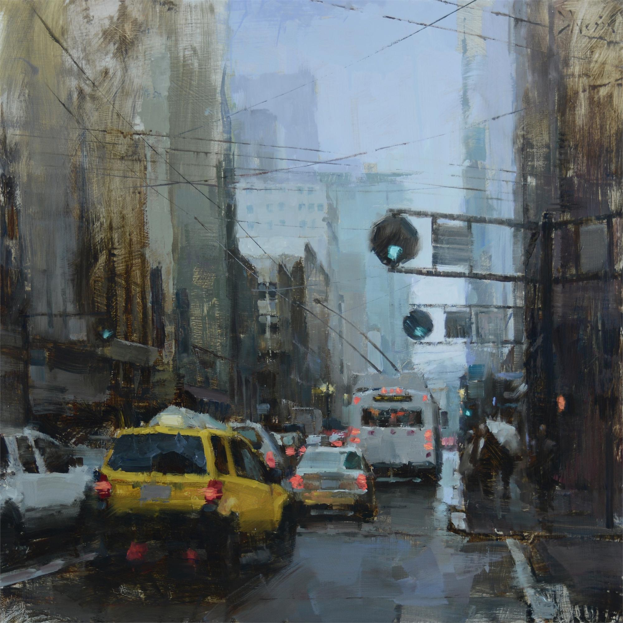 Kearny Street Traffic by Jacob Dhein