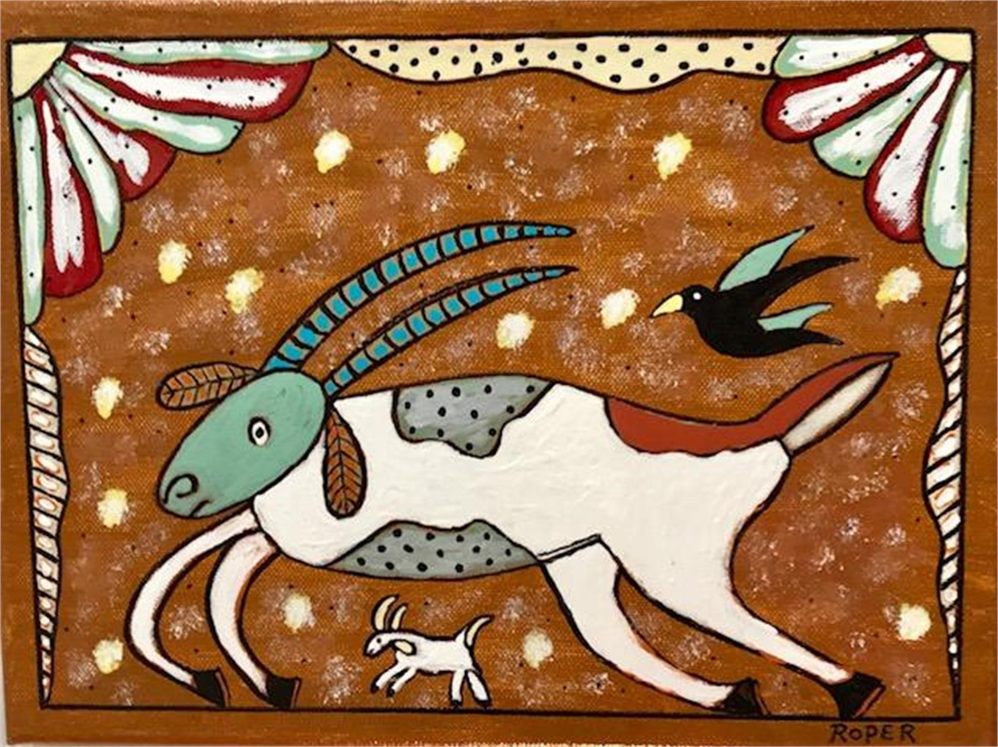 Running Goat by Billy Roper