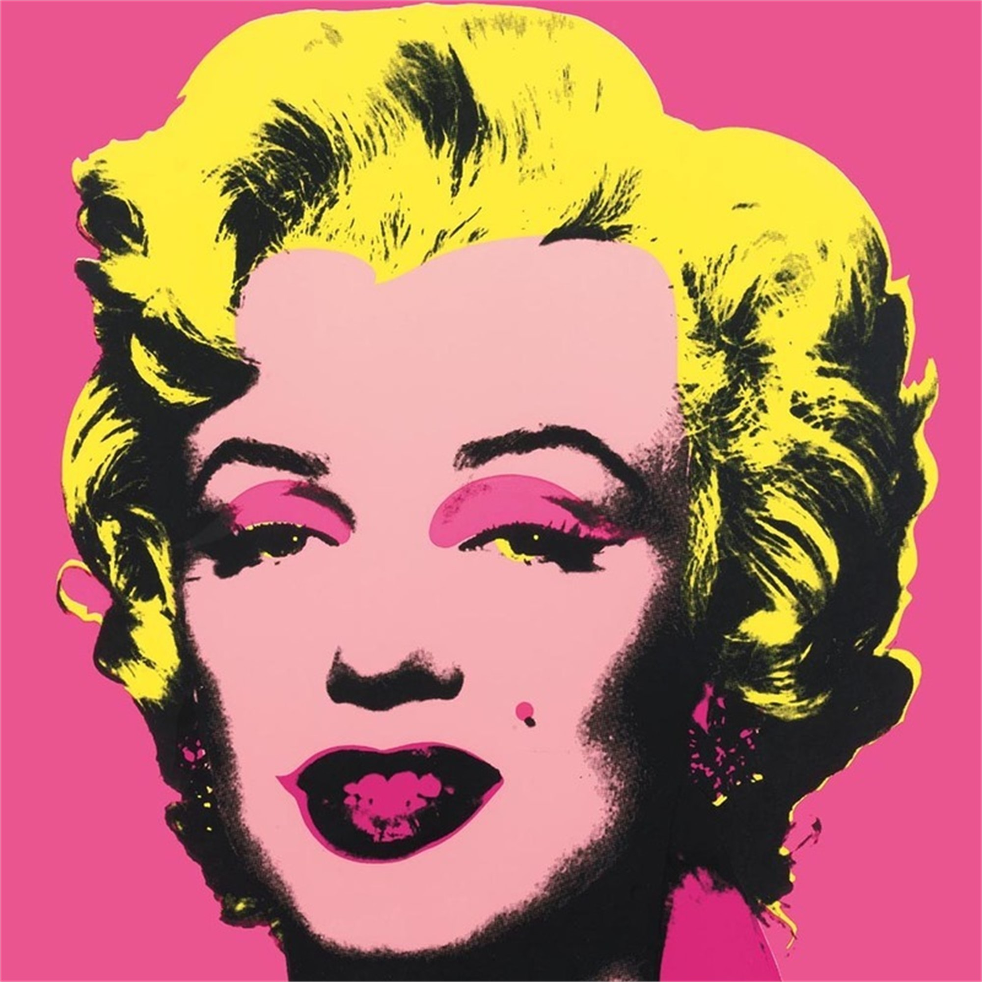 Marilyn 31 From the Sunday B. Morning Edition by Andy Warhol