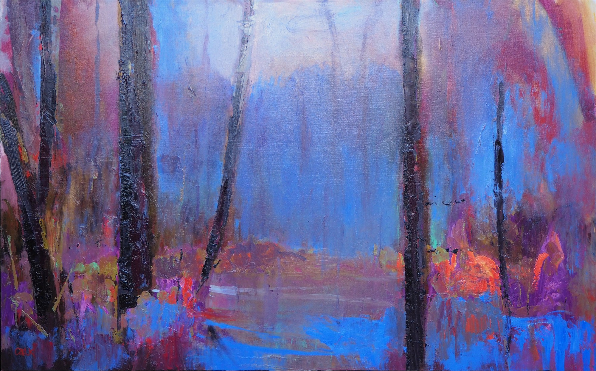 Woodland Cathedral Series II by James Calk
