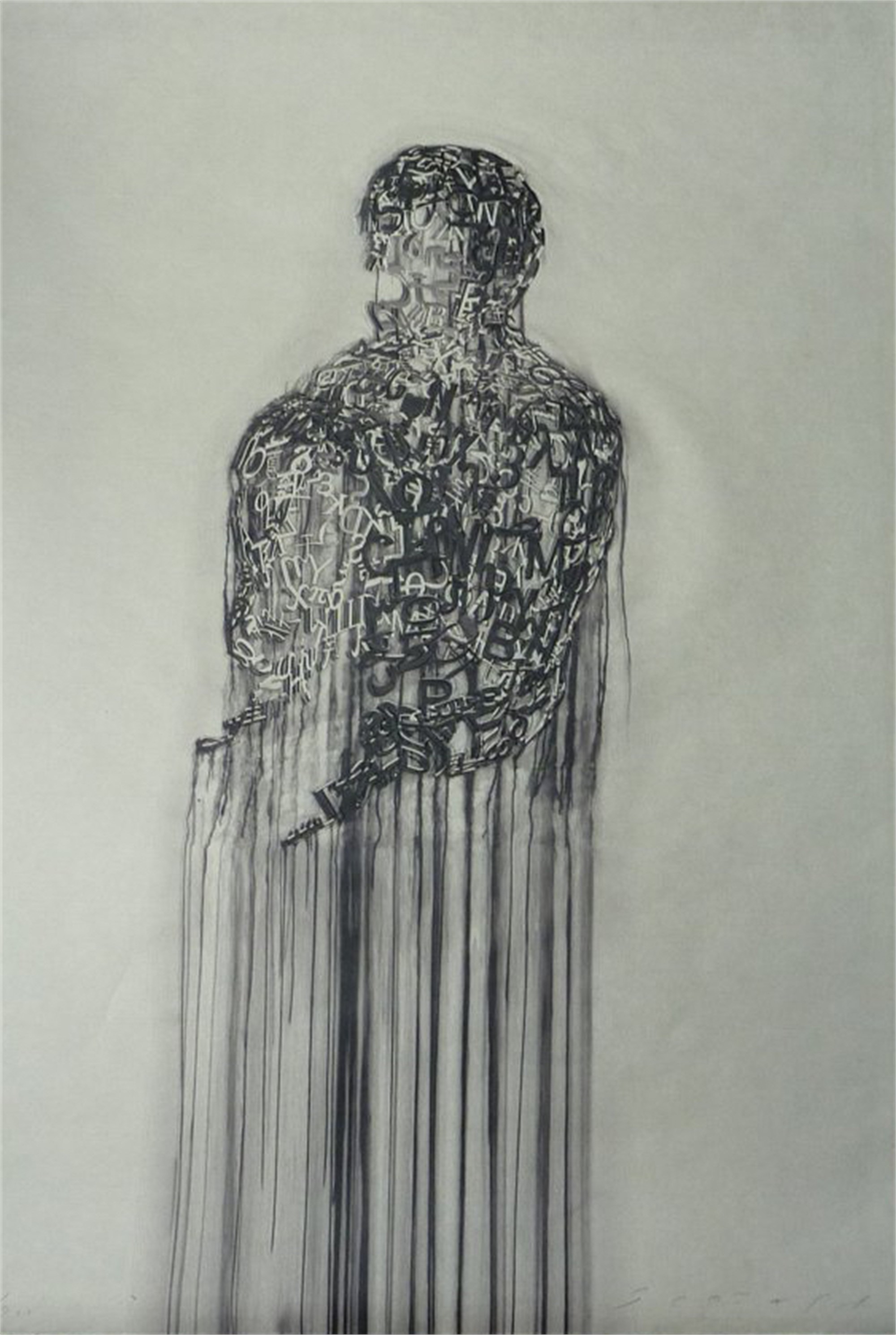 Untitled (Nomade) by Jaume Plensa