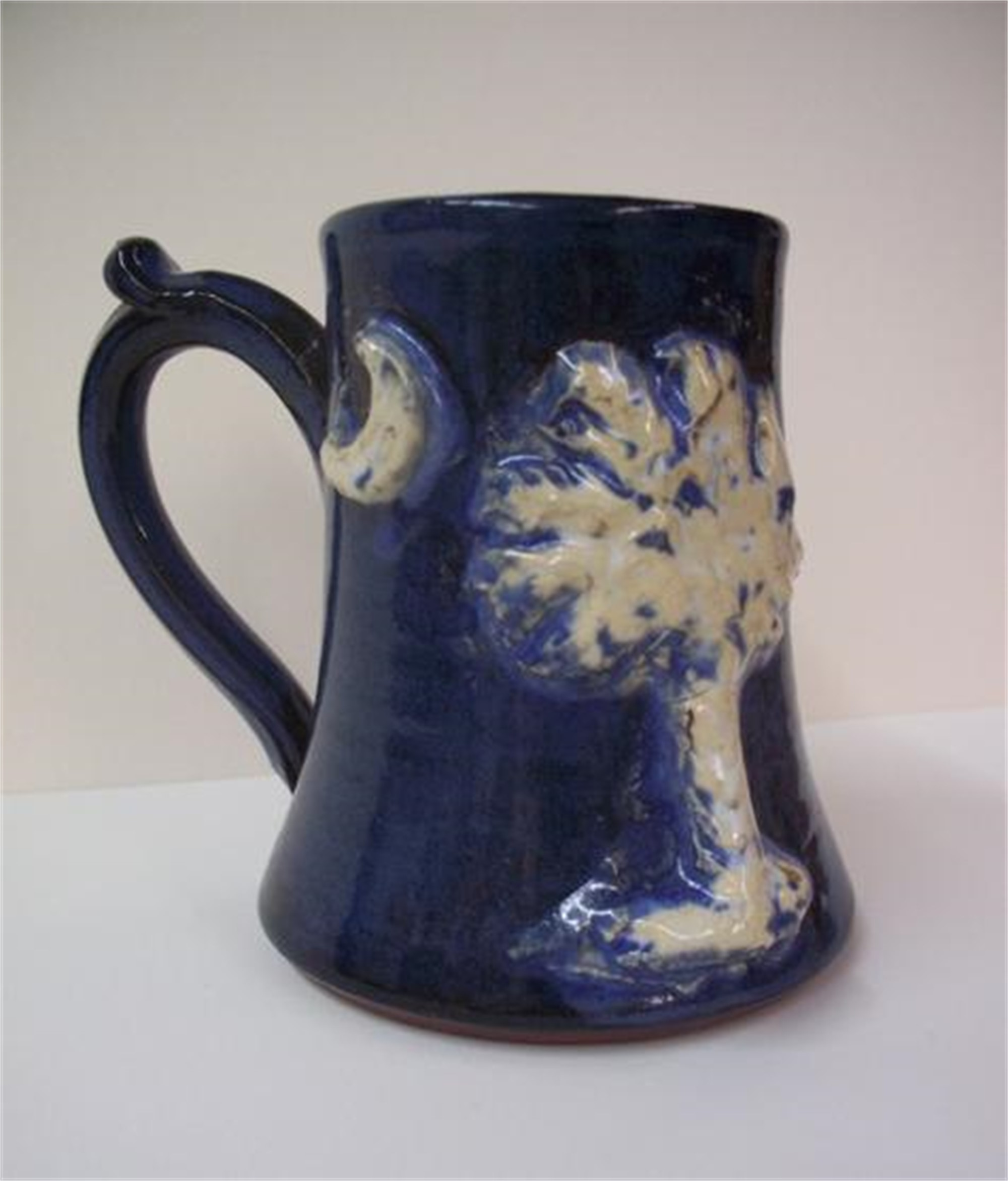SC Palmetto Mug - Dark Blue by Kate Krause
