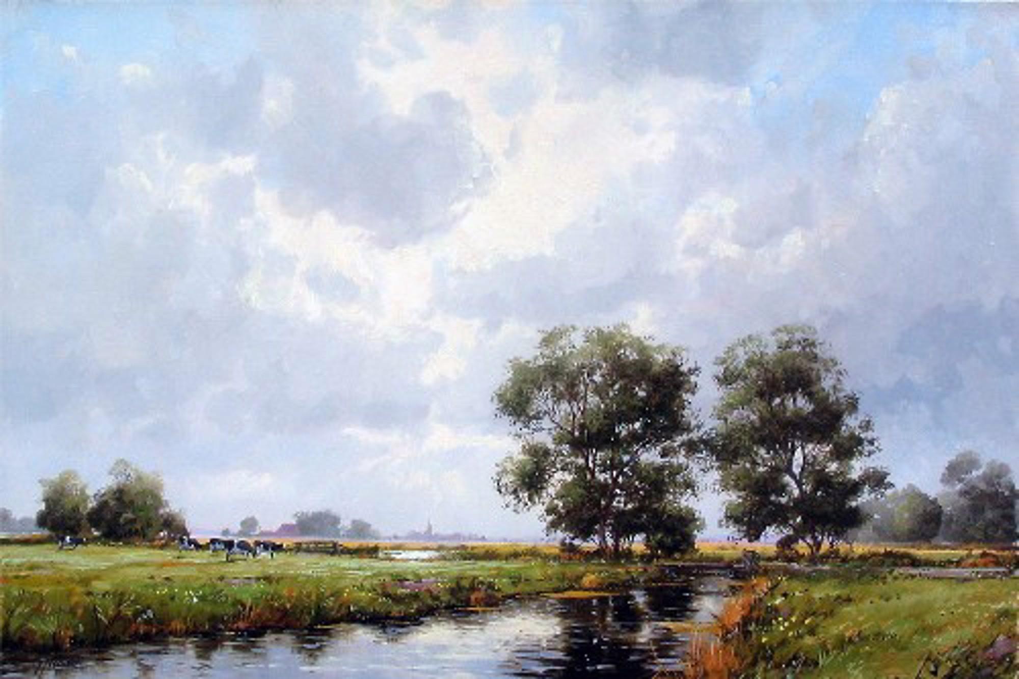 DUTCH LANDSCAPE by VEENSTRA