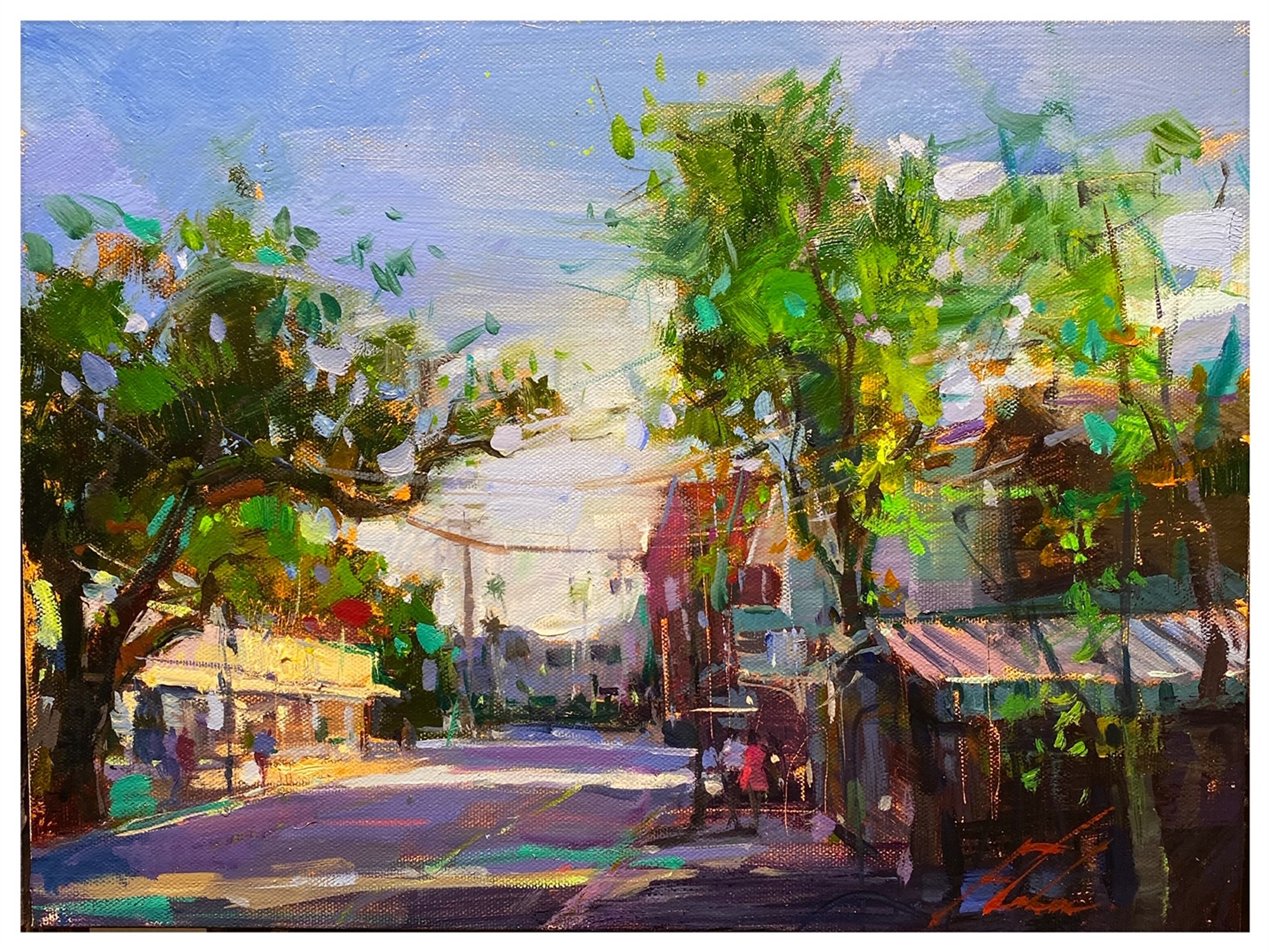 Mallory Square by Michael Flohr