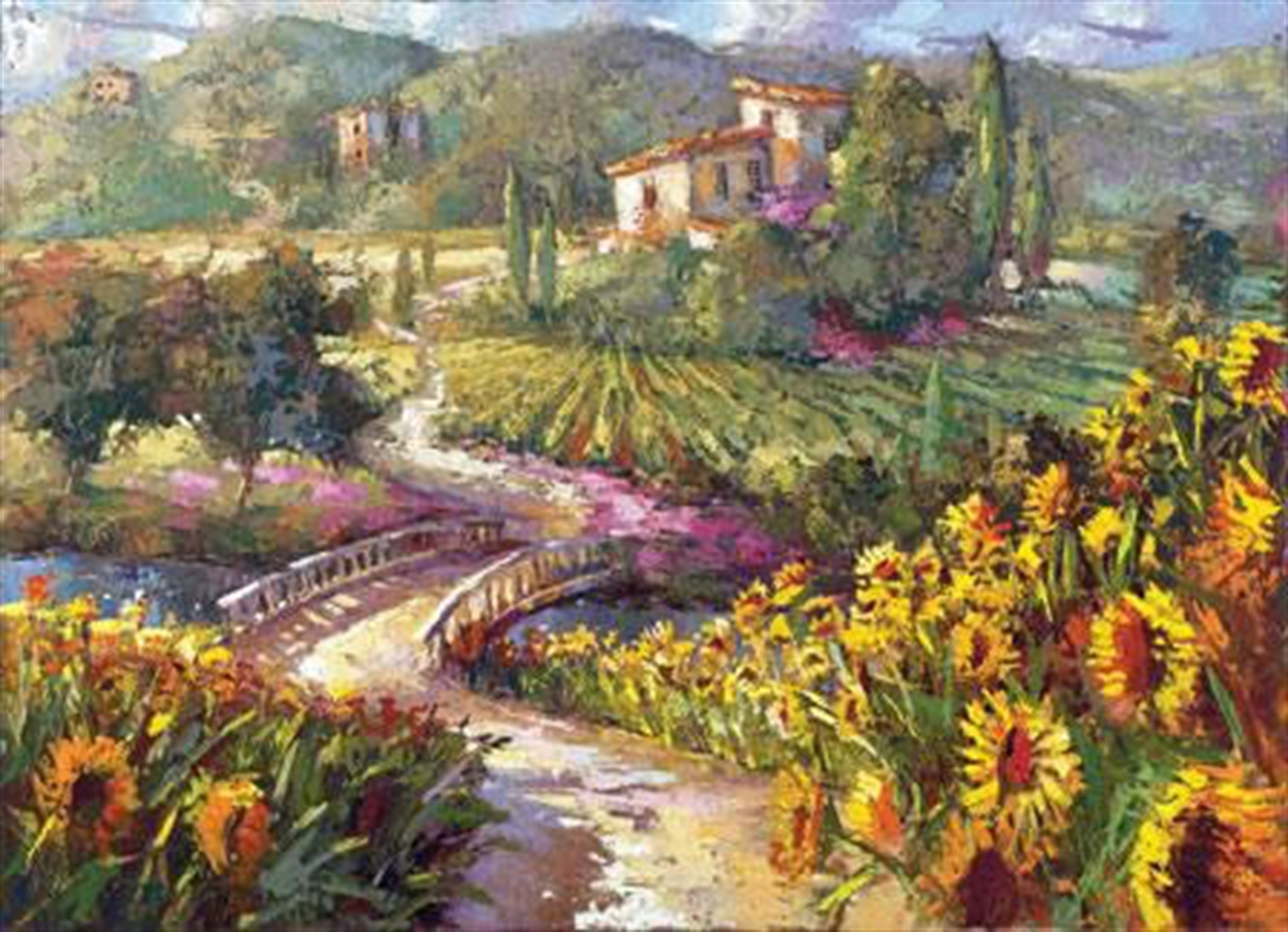 View of the Vineyard by Steven Quartly