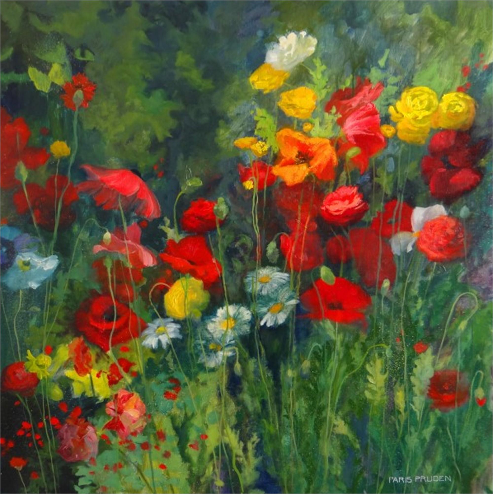Field of Poppies by Nancy Paris Pruden