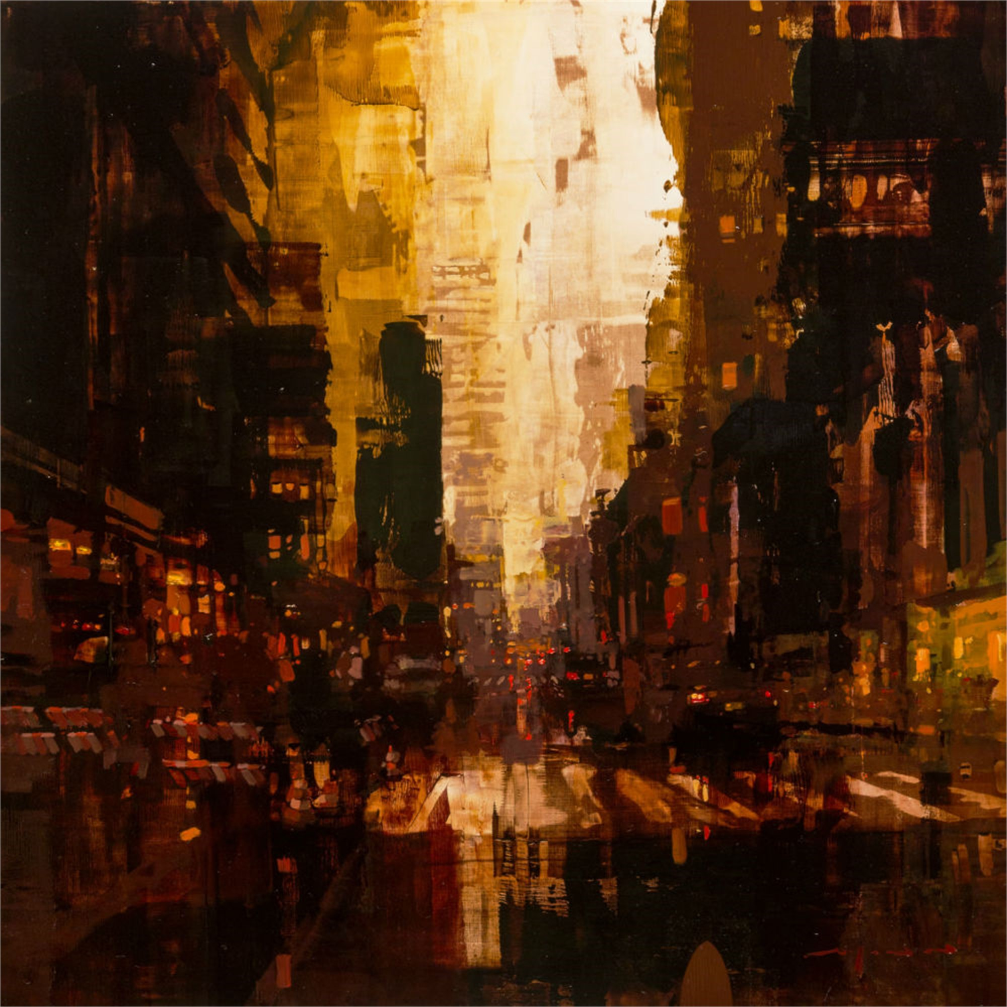 NYC 28 by Jeremy Mann
