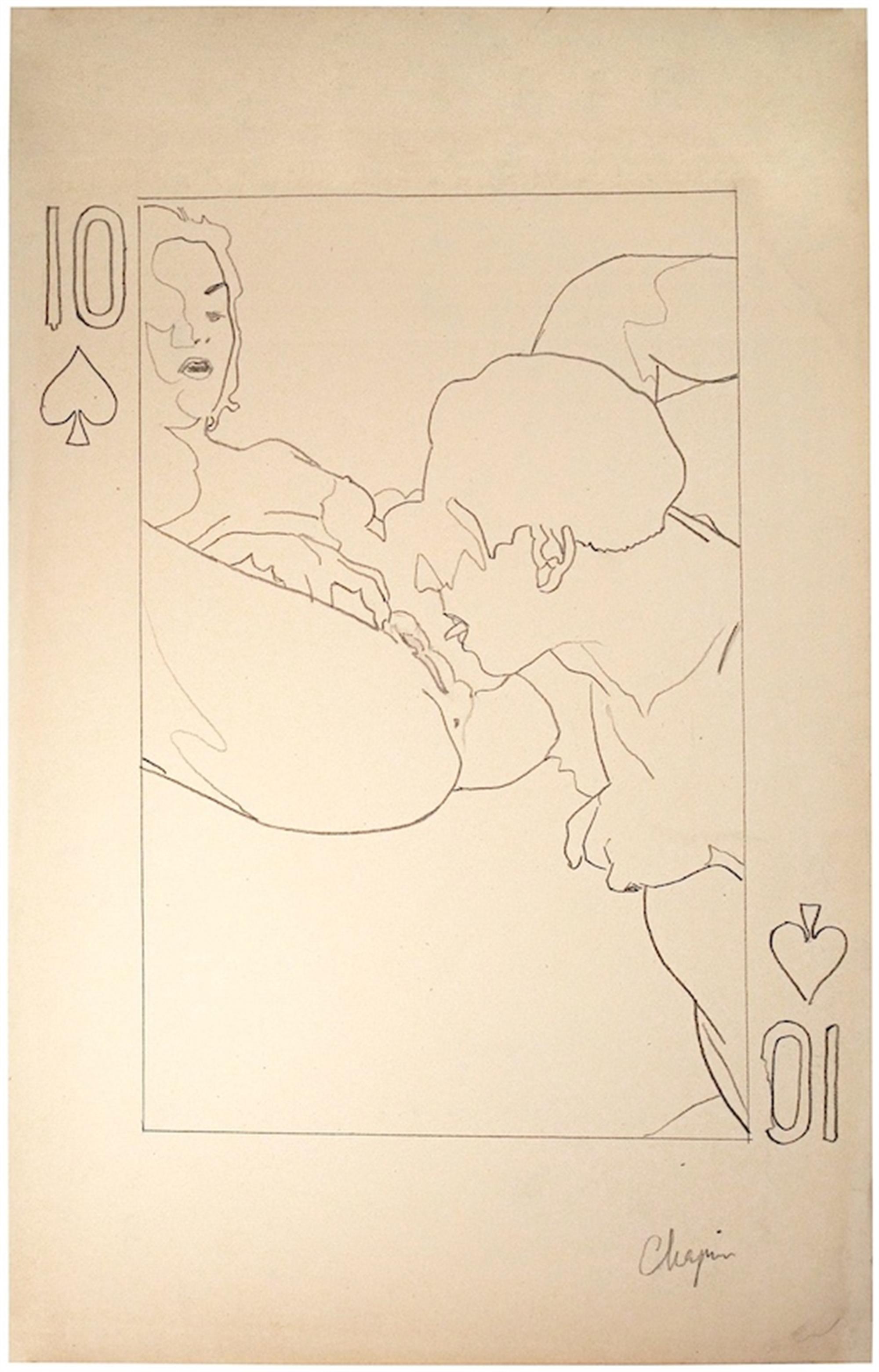 10 of Spades by David Chapin