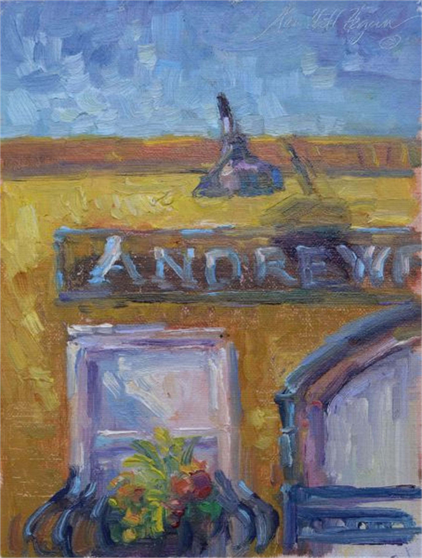 Corner of Pinckney and Church by Karen Hewitt Hagan