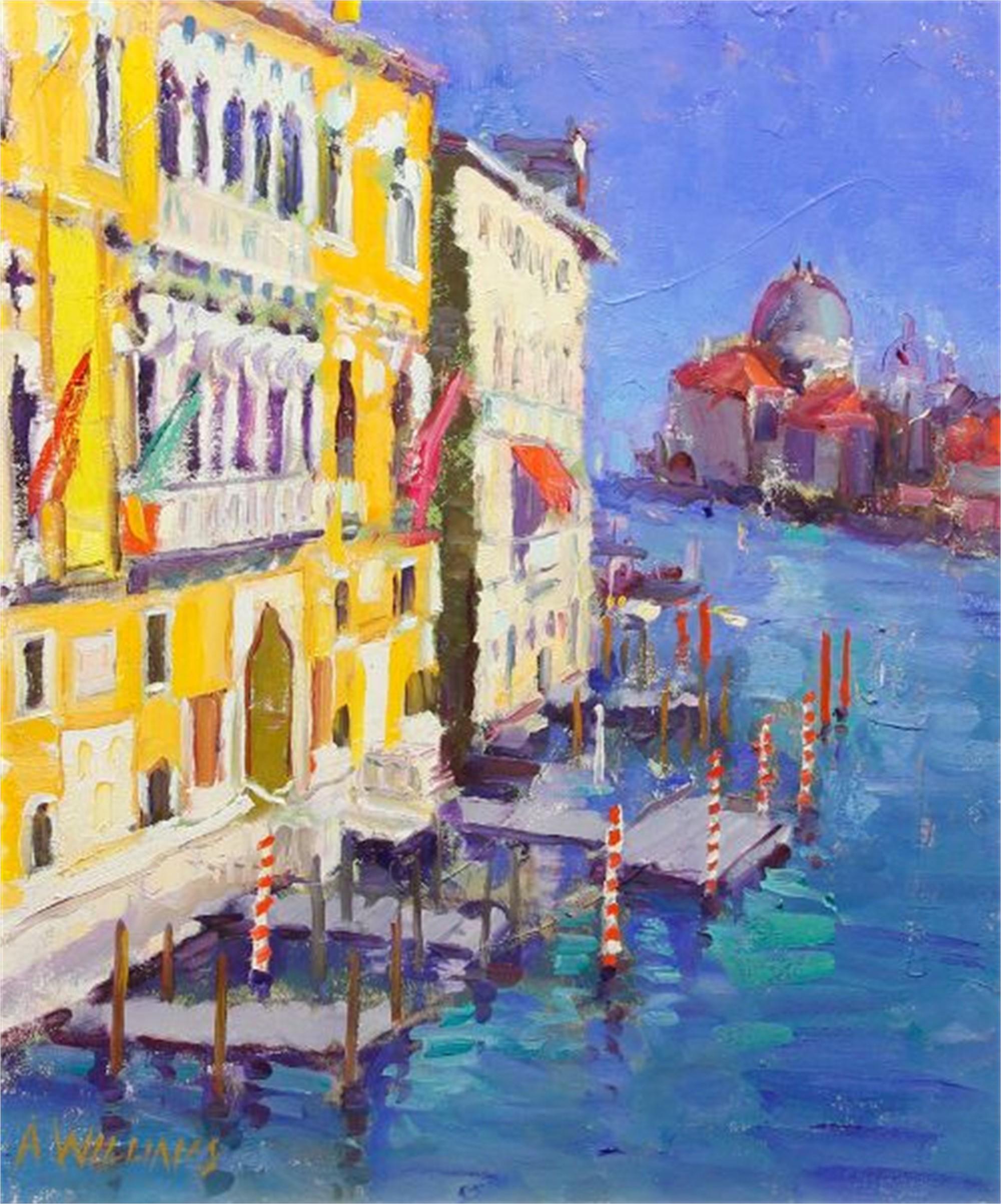 Ponte Dell' Academia by Alice Williams