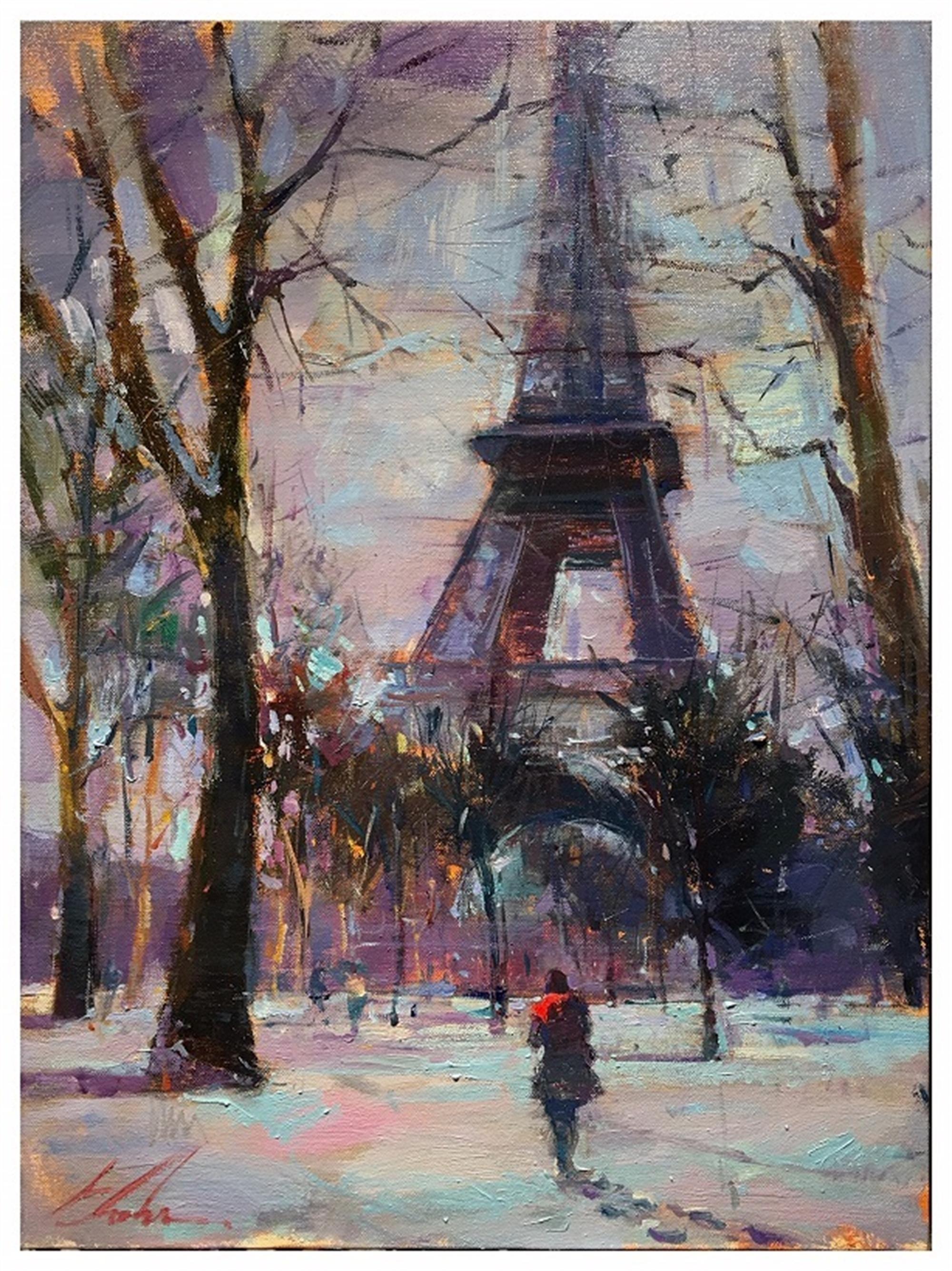 Winter in Paris by Michael Flohr