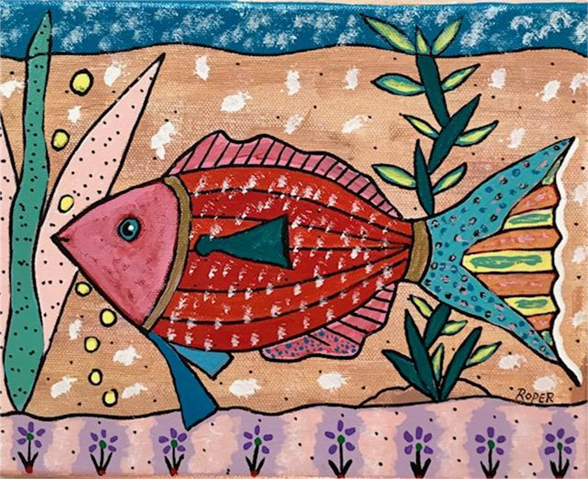 Pretty Little Fish by Billy Roper
