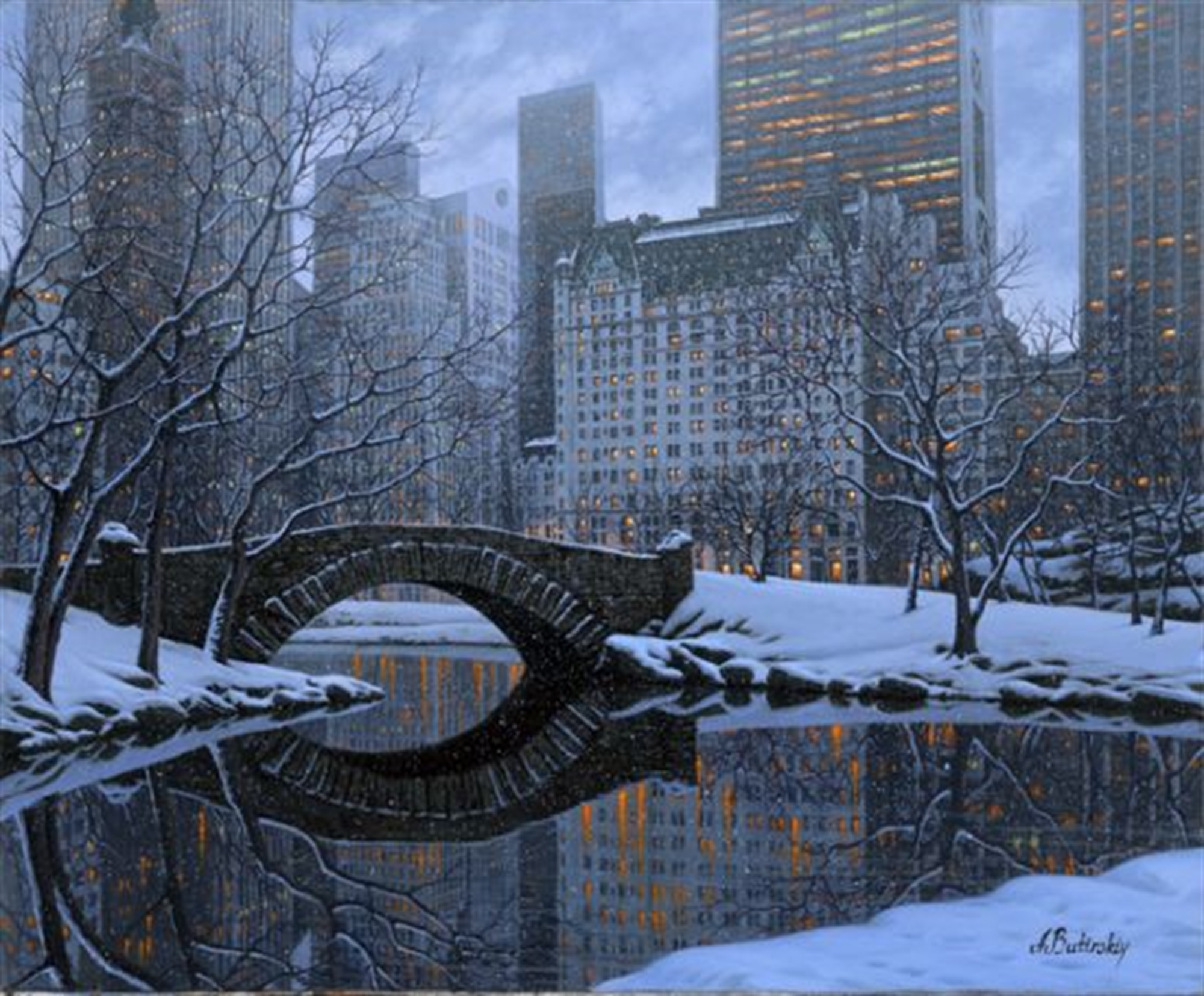 Central Park Gold Series by Alexei Butirskiy