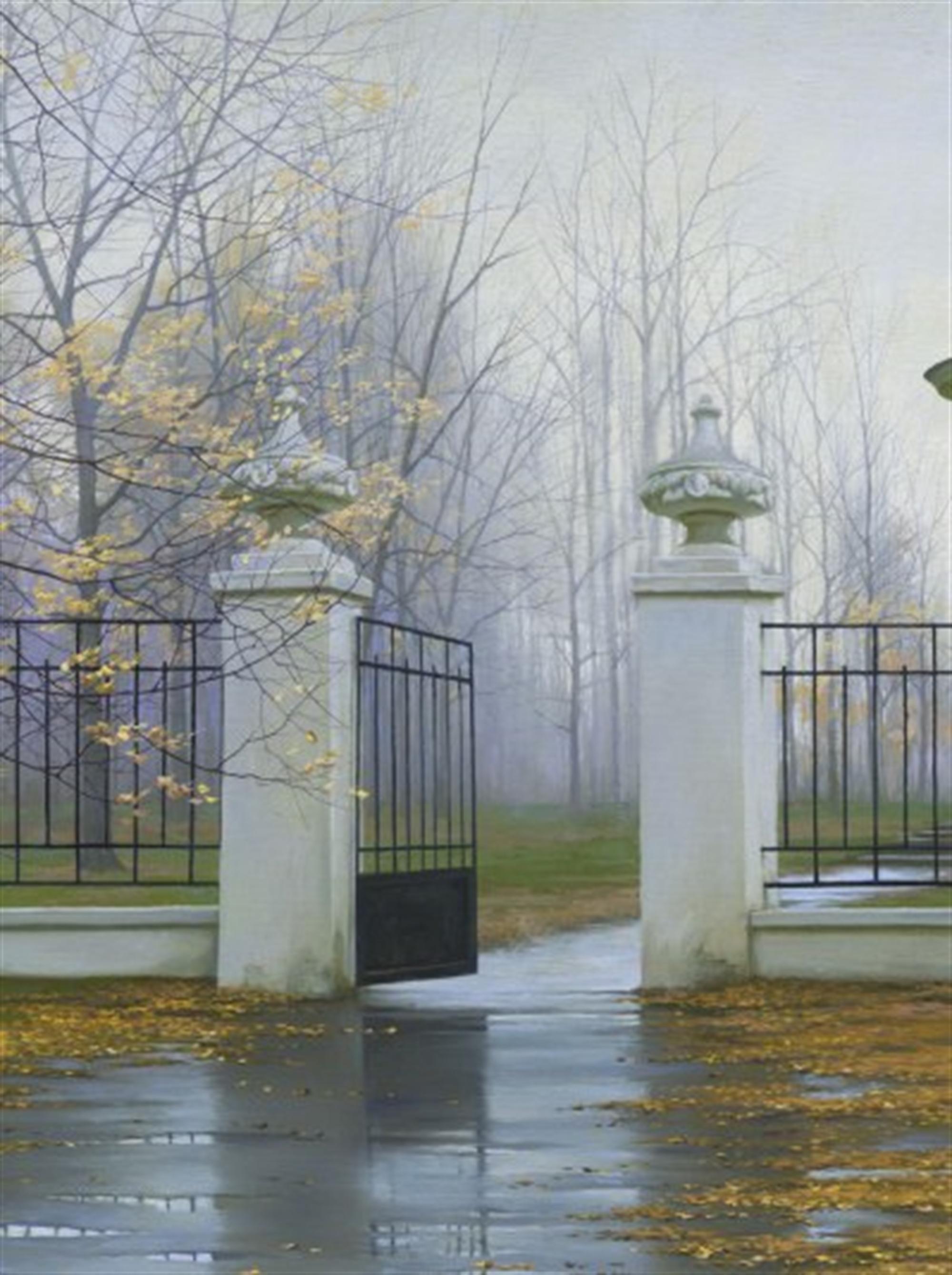 Autumn Gate by Alexei Butirskiy