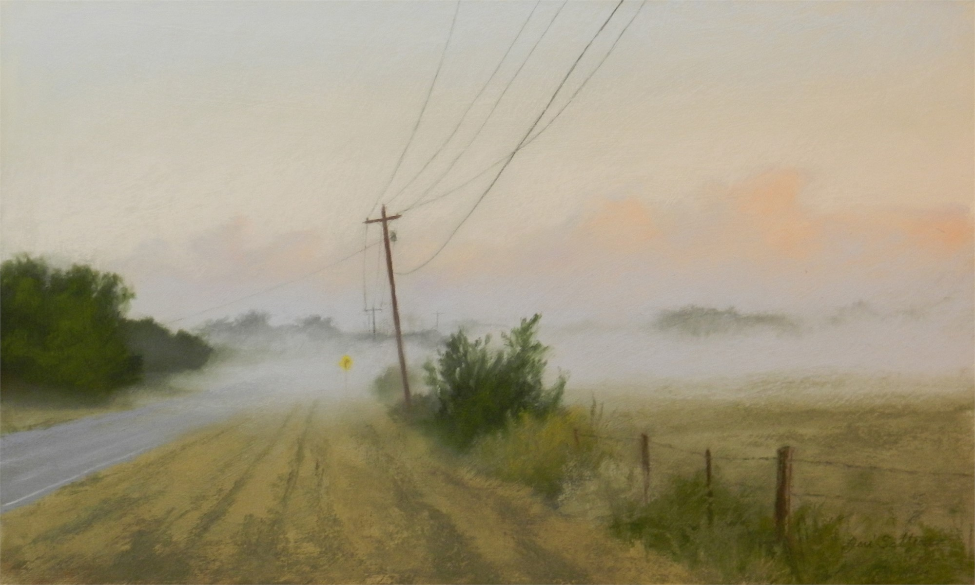 Blanket of Fog by Jeri Salter