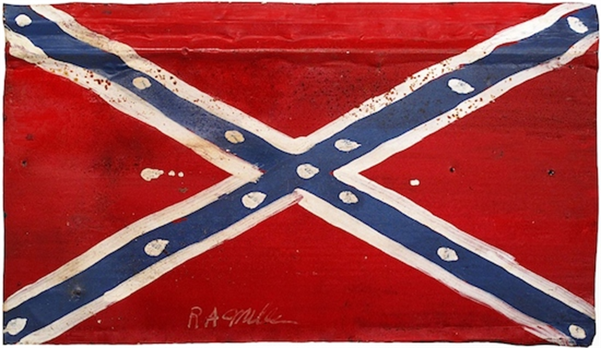 Rebel Flag by R.A. Miller