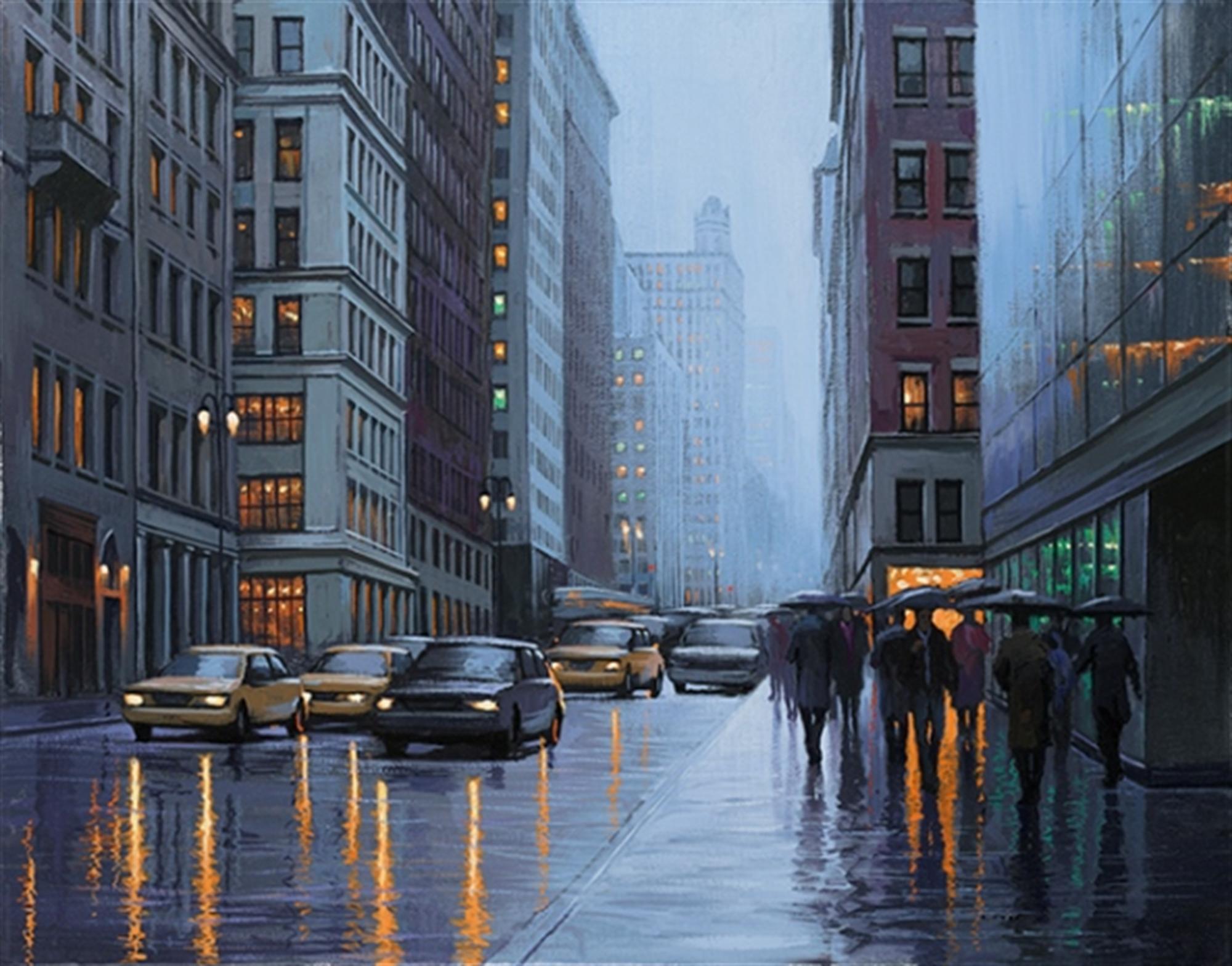 6 PM - New York by Alexei Butirskiy