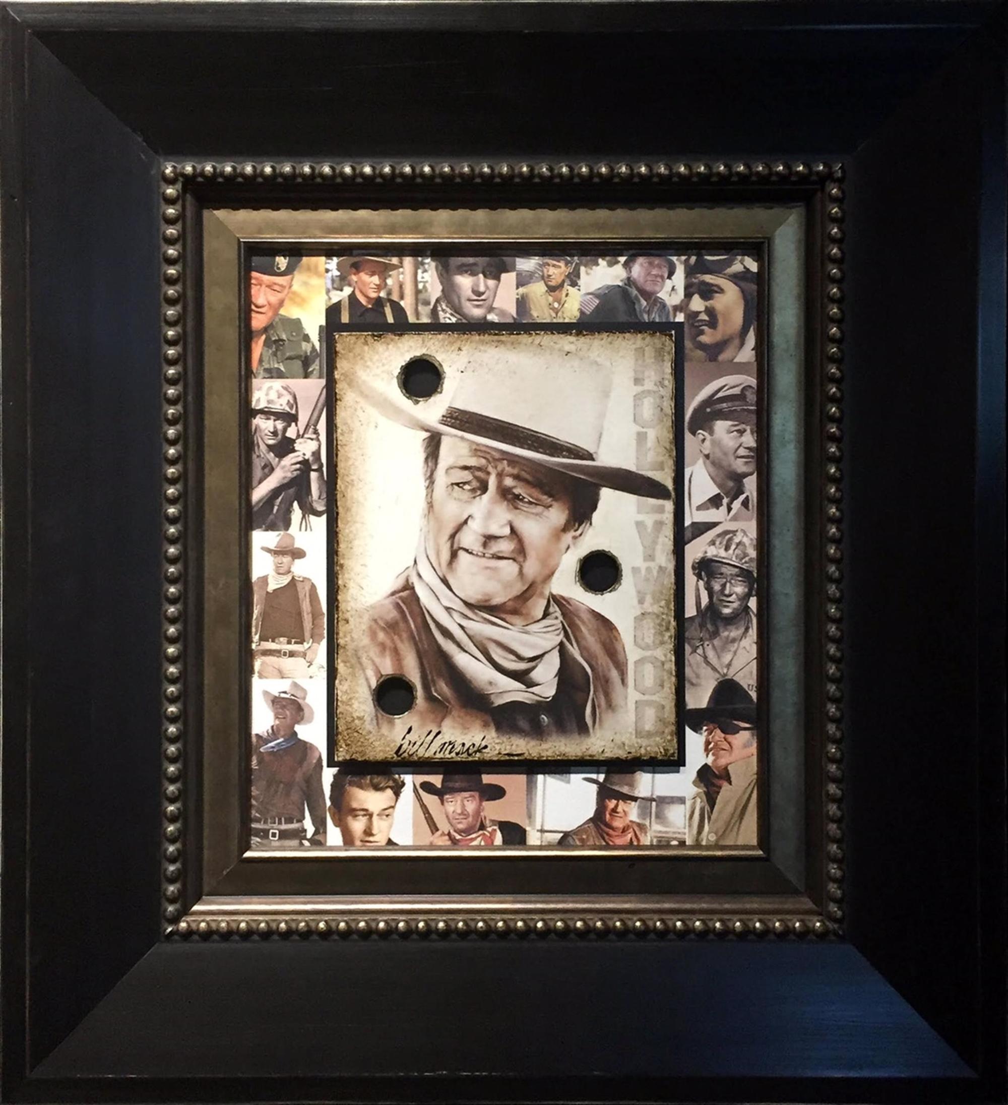 John Wayne New Variant by Bill Mack Hollywood Sign