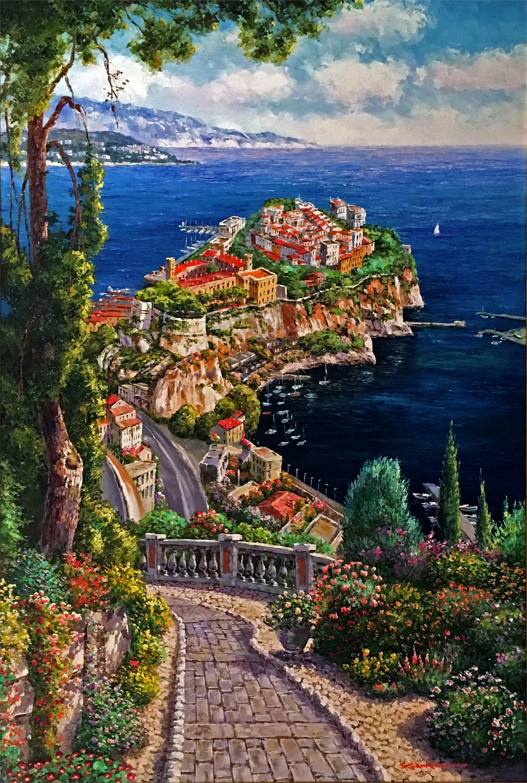 Monte Carlo, Monaco by S. PARK