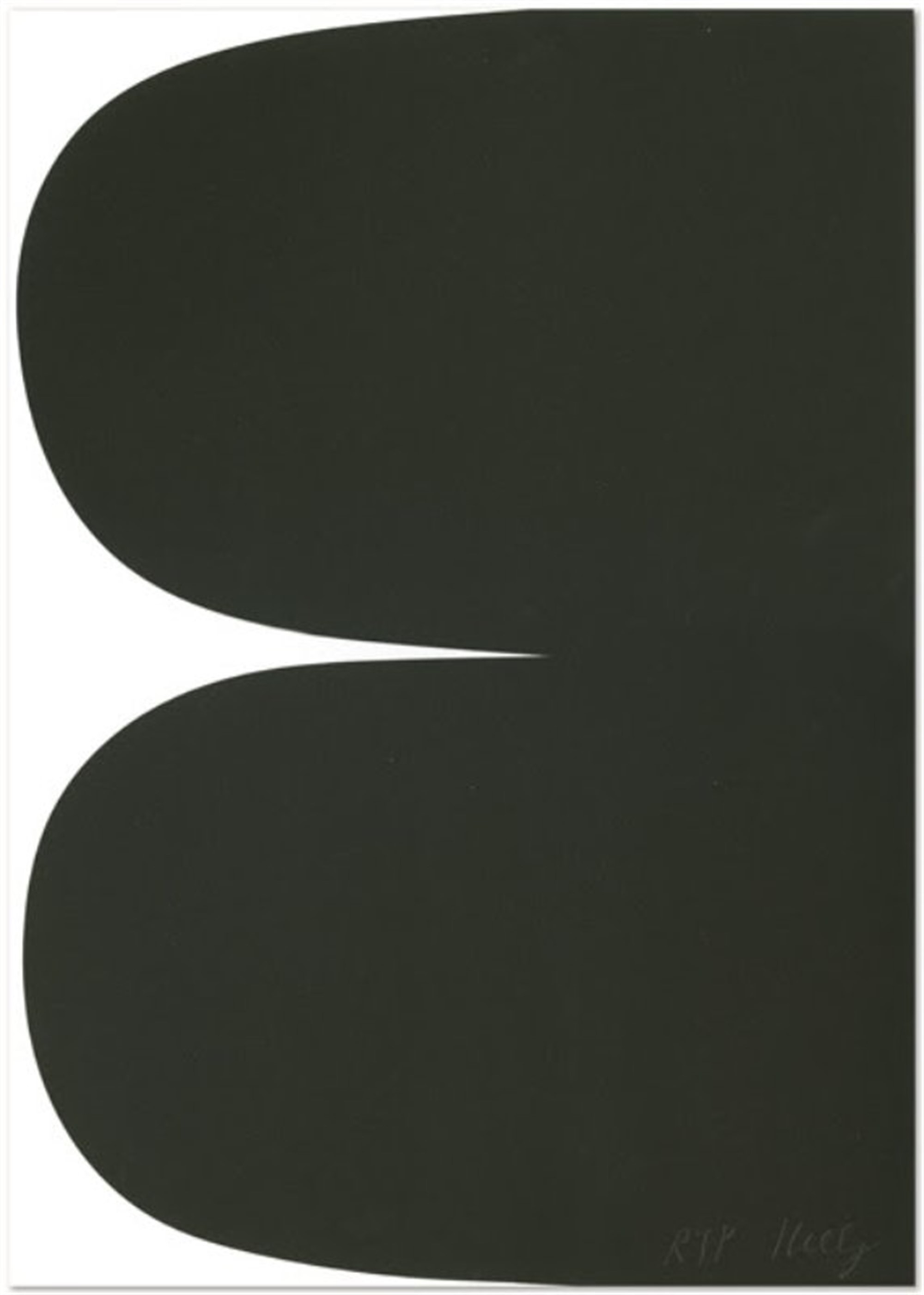 Untitled (for Obama) by Ellsworth Kelly