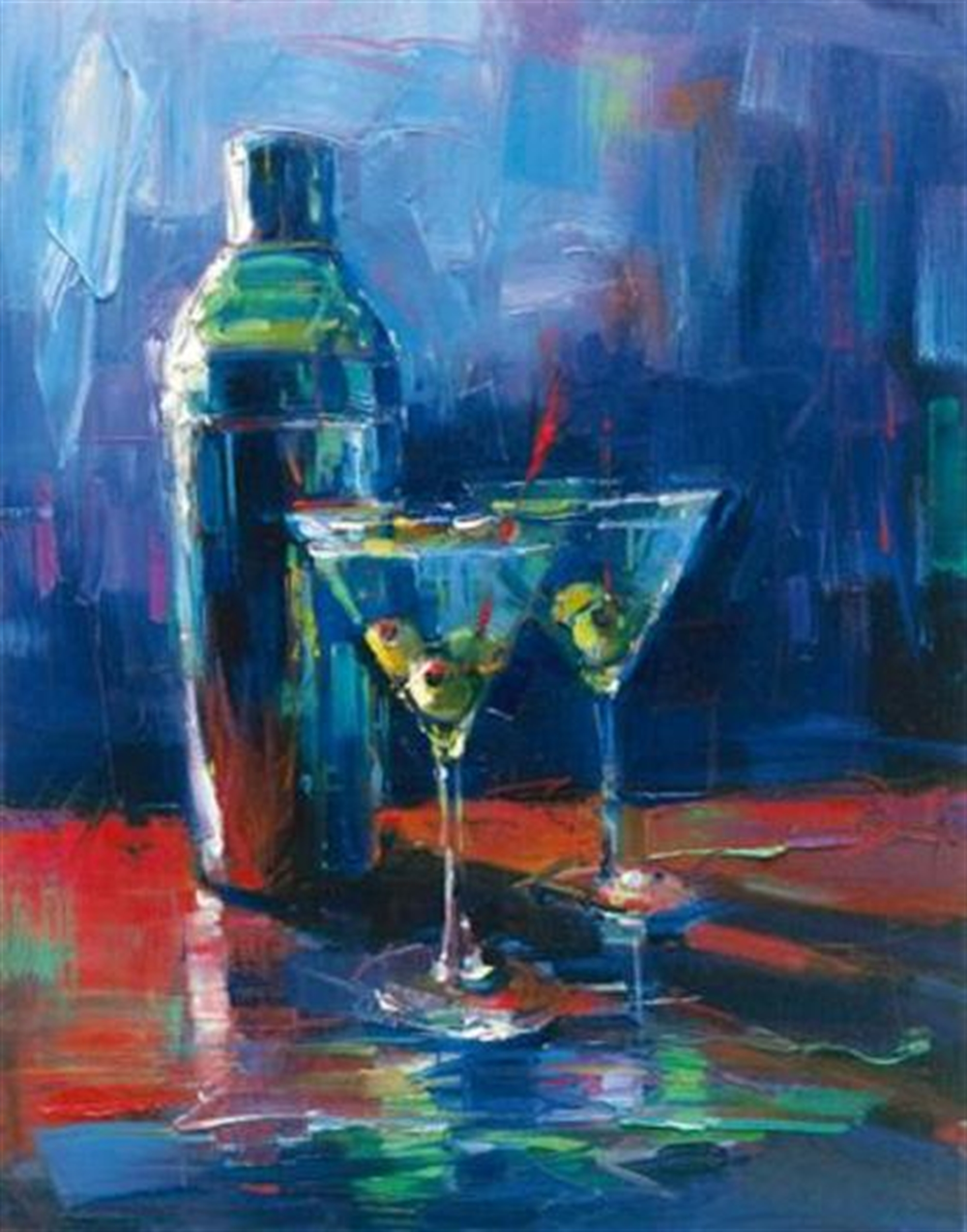 Martini for Two by Michael Flohr