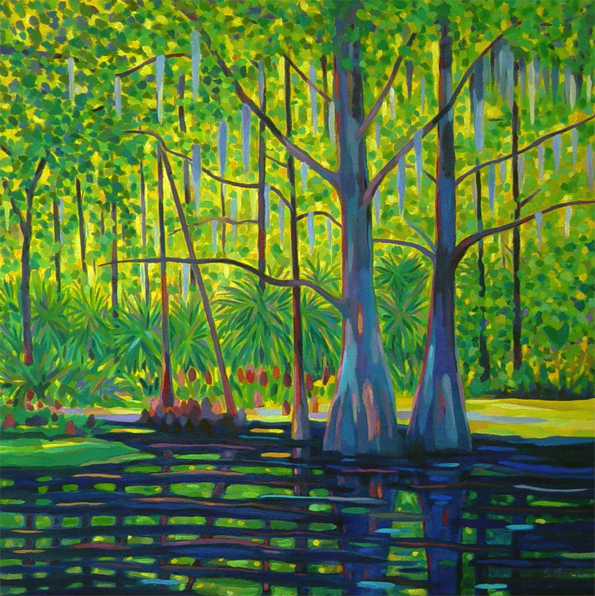 Cypress Hearts by Gary Borse