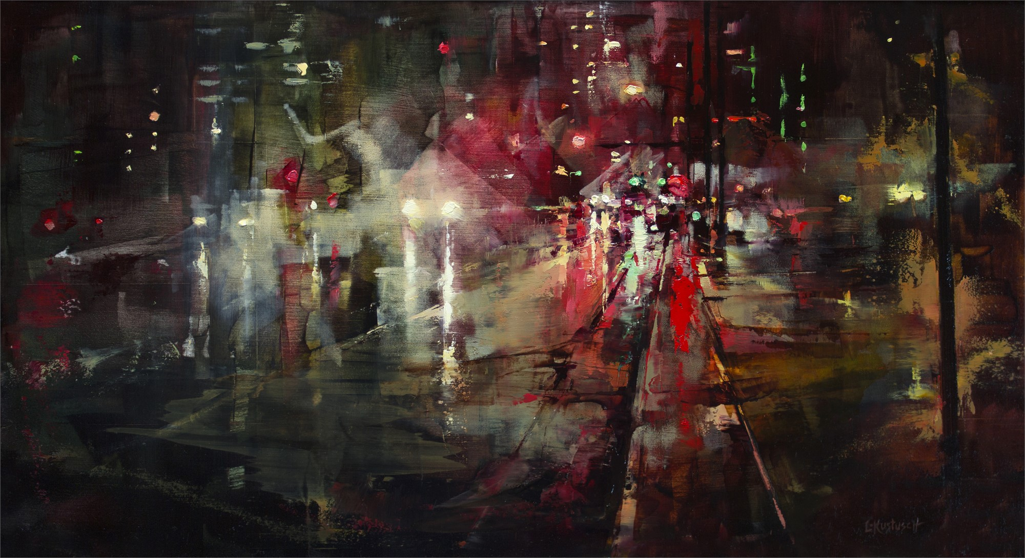 Night Lights by Lindsey Kustusch