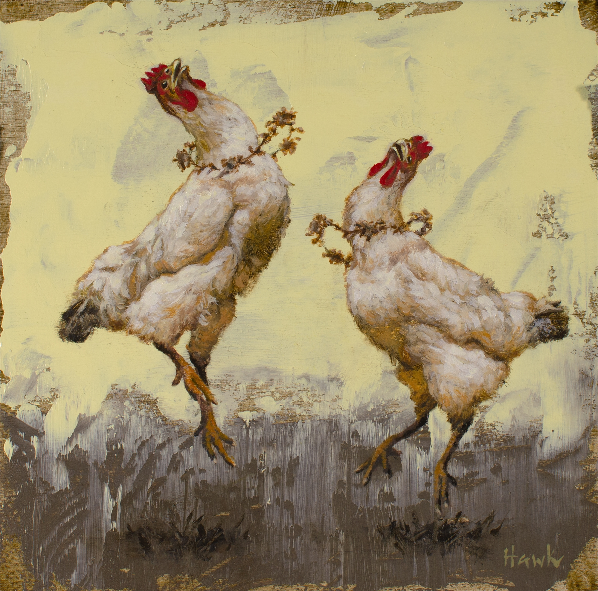 Fancy Dancing Chicks by Dana Hawk