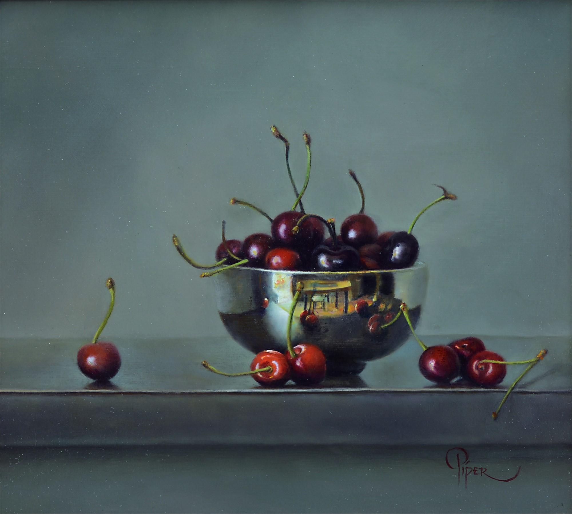 Cherries by Marsha Whitesides Piper
