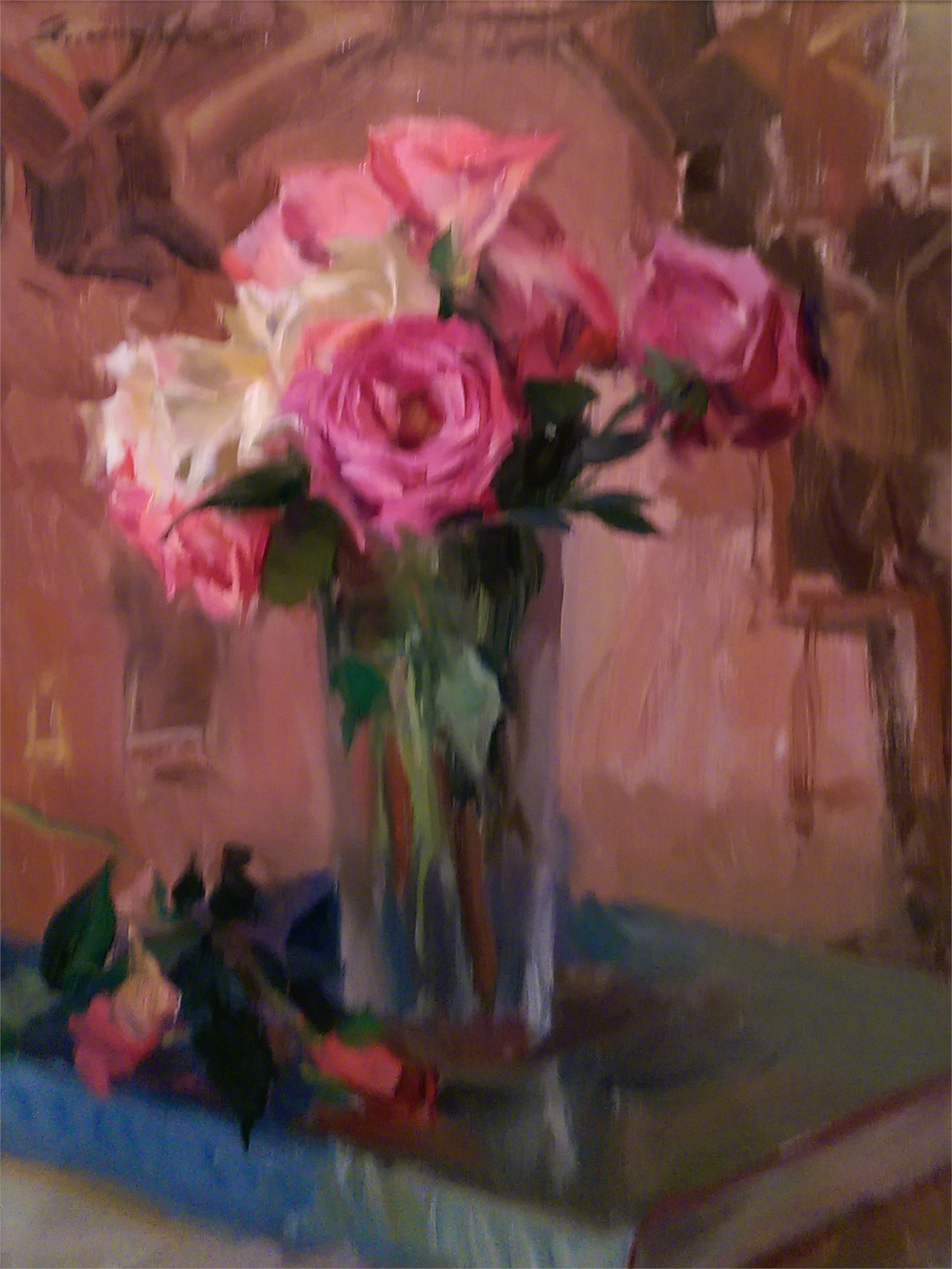 Roses in Glass by Quang Ho