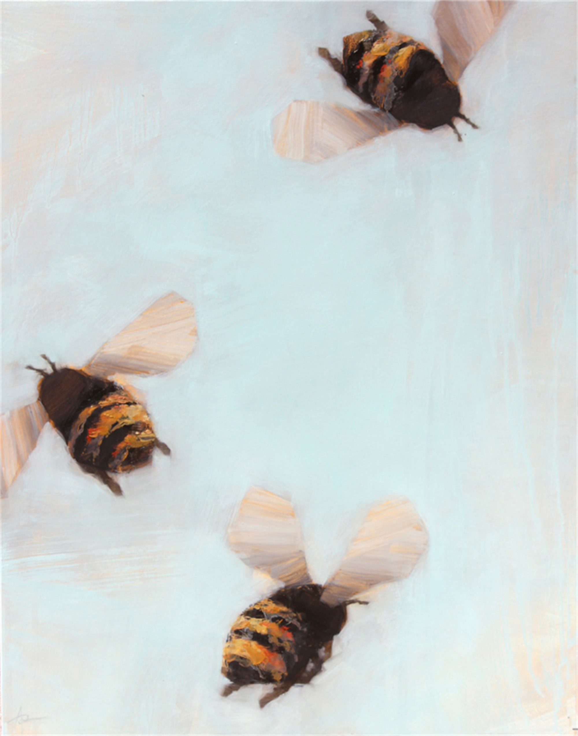 Bees 99 AB by Angie Renfro