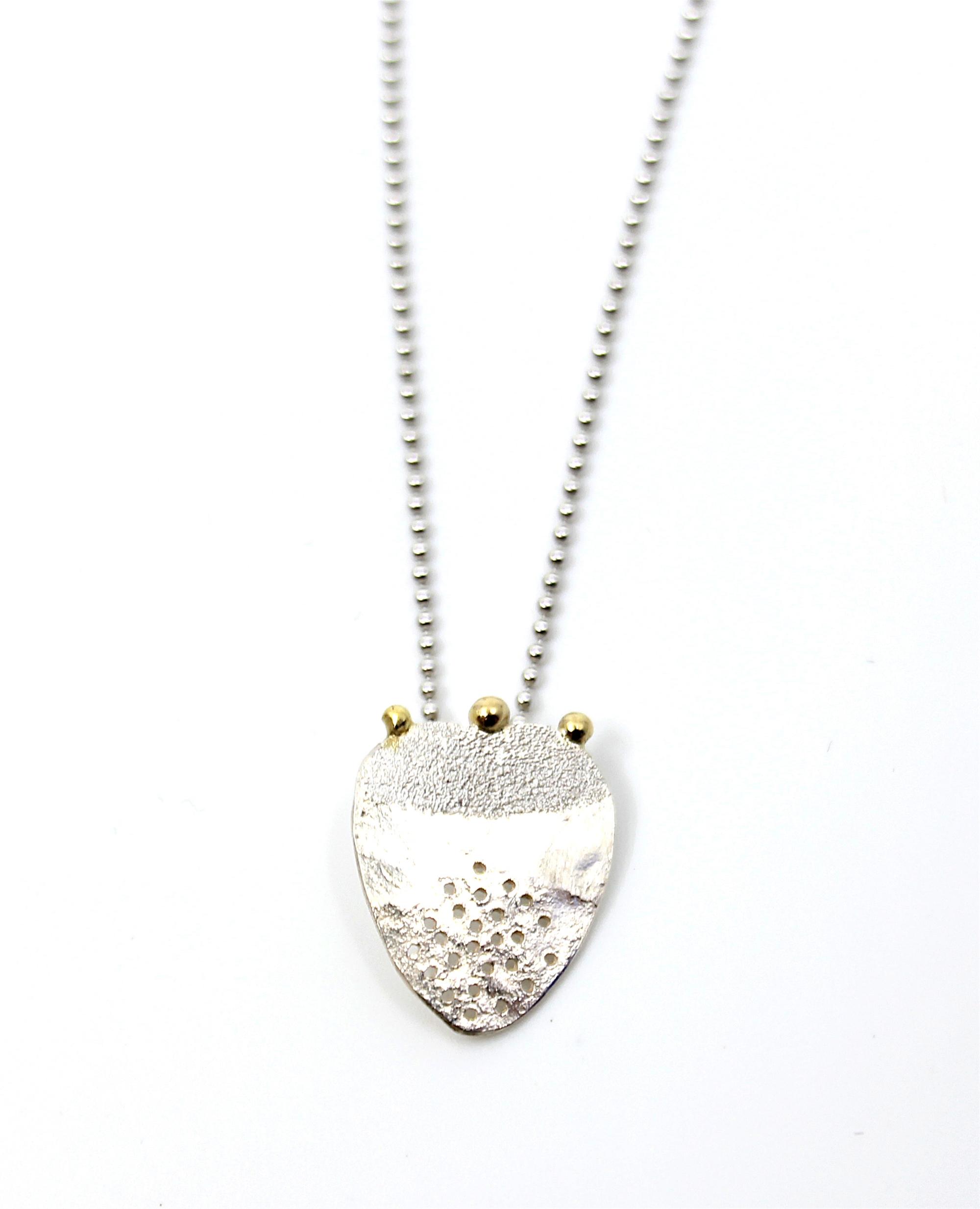 Mint Pendant by Leia Zumbro