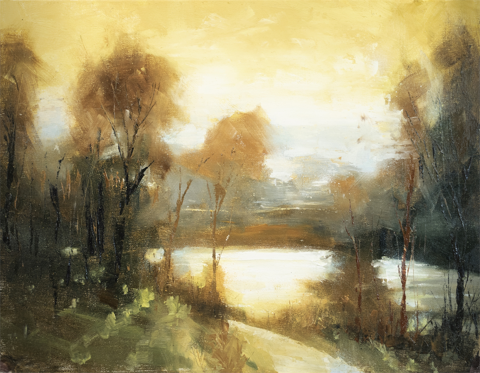 Golden Afternoon by Christopher Clark