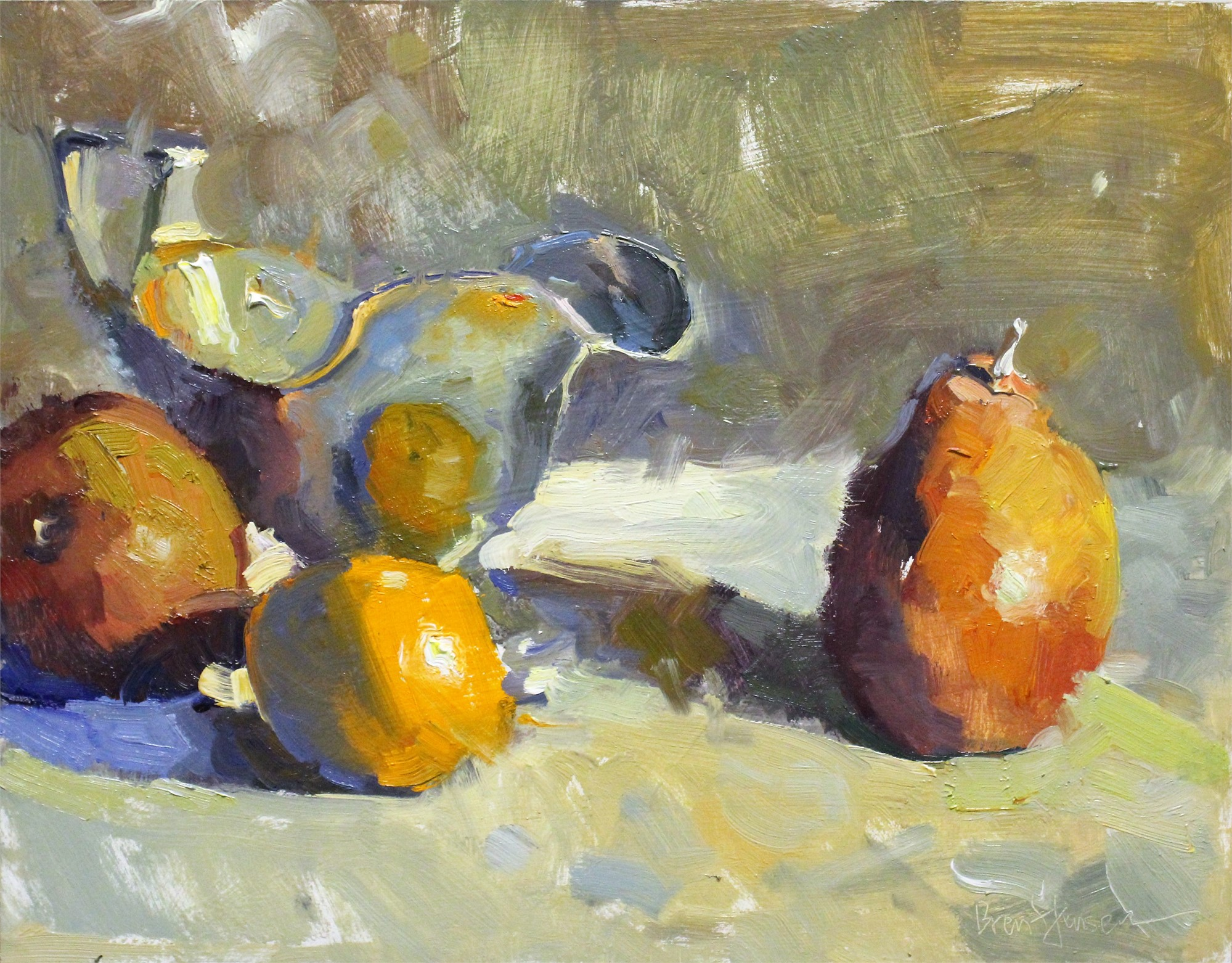 Gravy Boat With Fruit by Brent Jensen