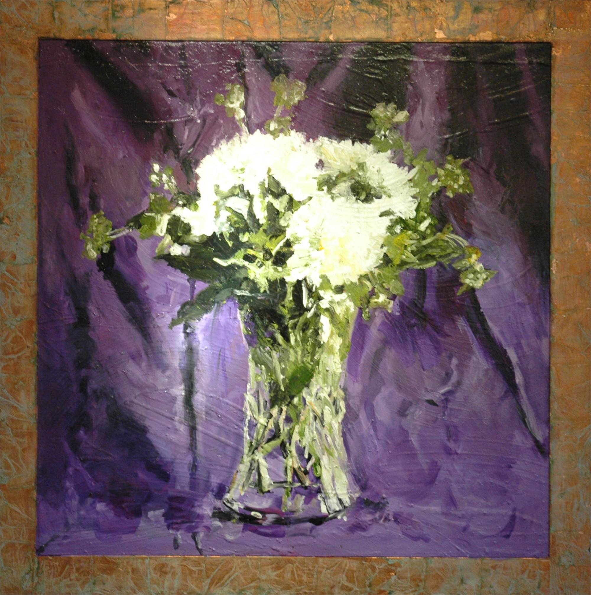 Mums In Purple by Mark Gaskin