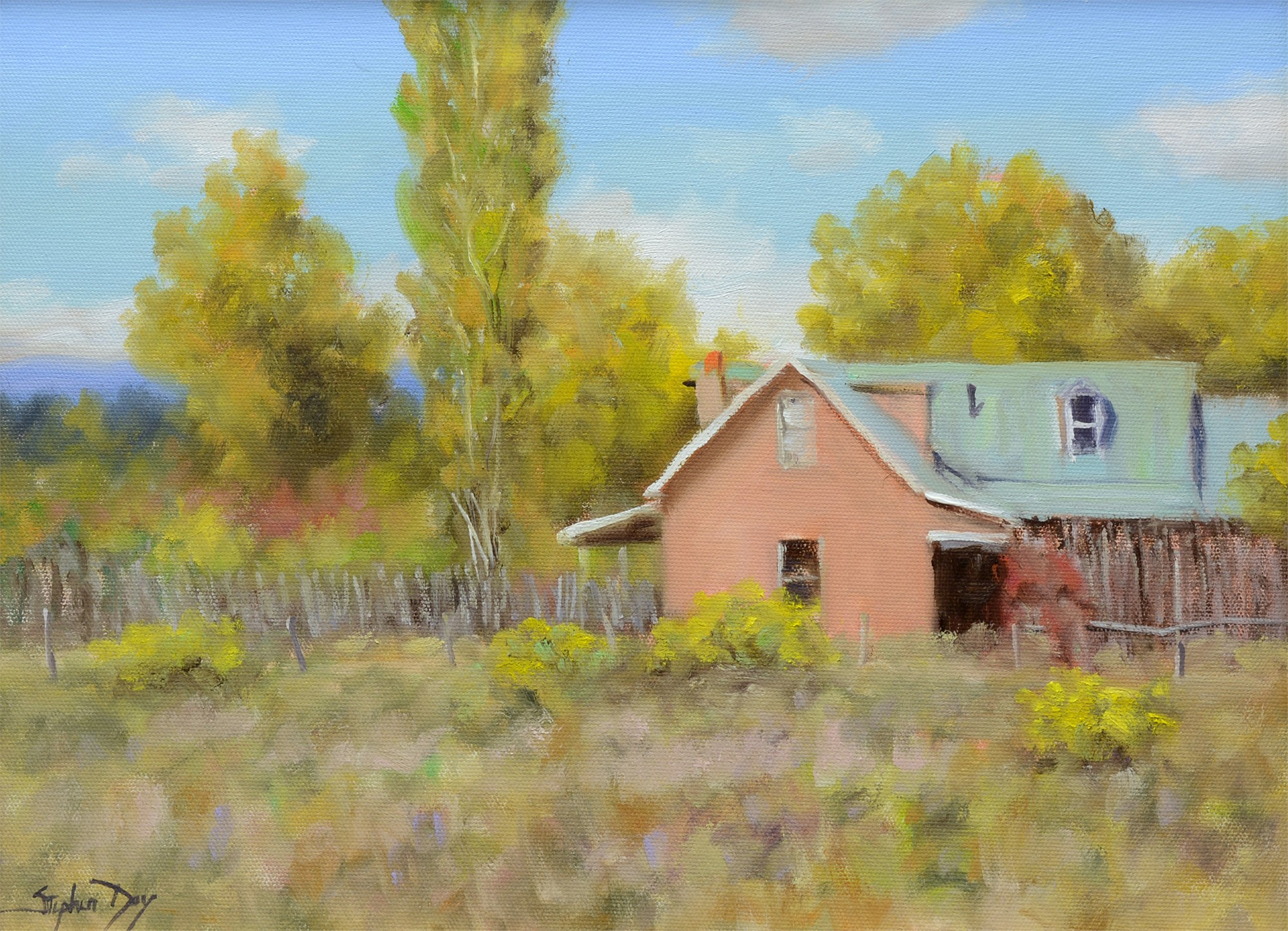 Taos Fall by Stephen Day