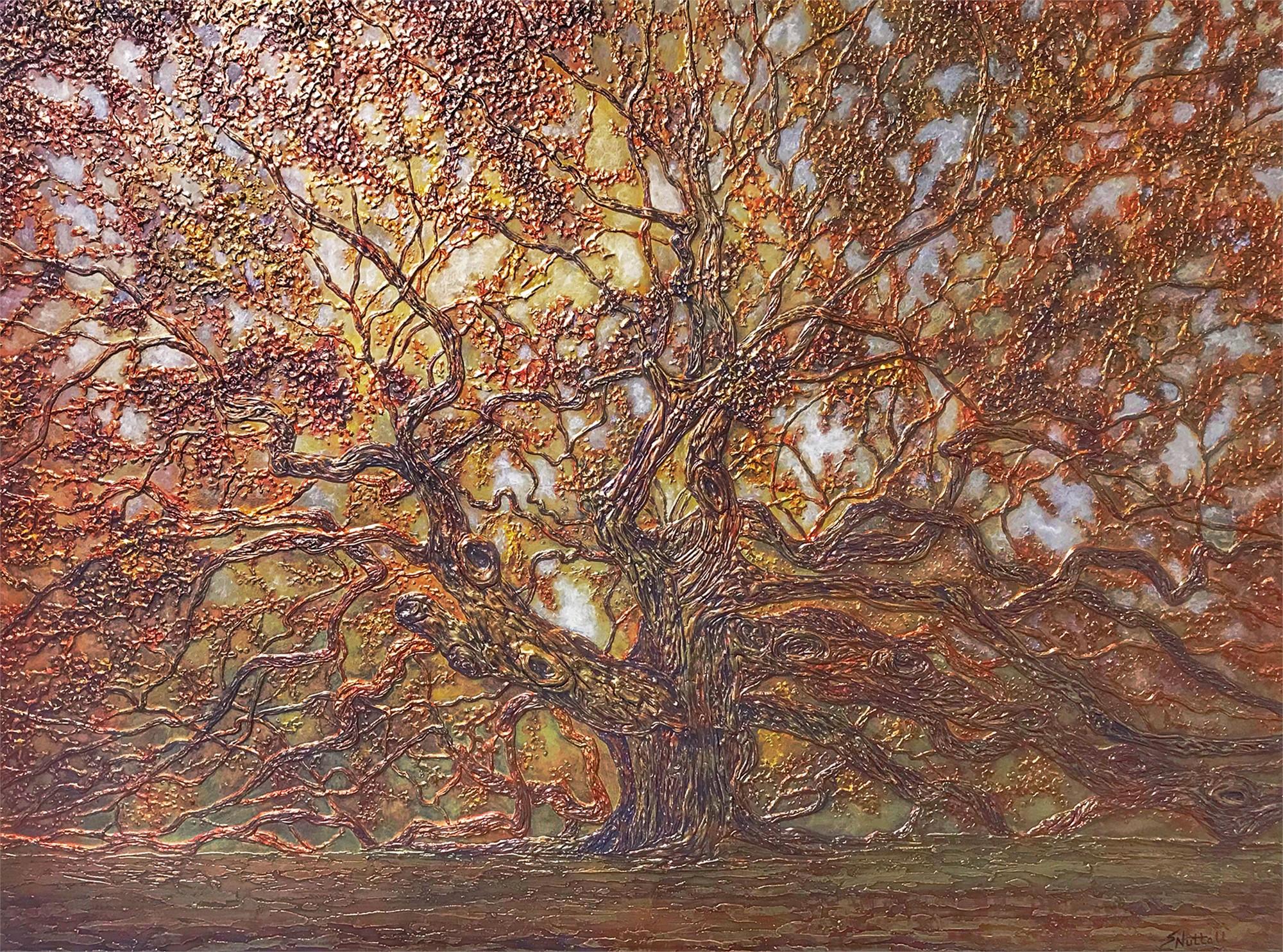 Angel Oak - Metallic by Susan Nuttall