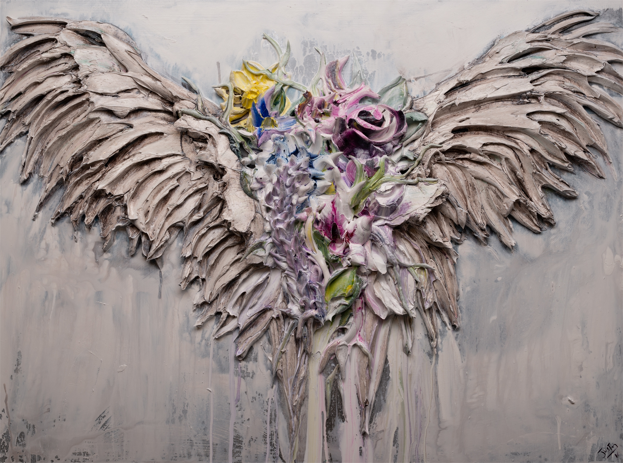 FLORAL WINGS by JUSTIN GAFFREY