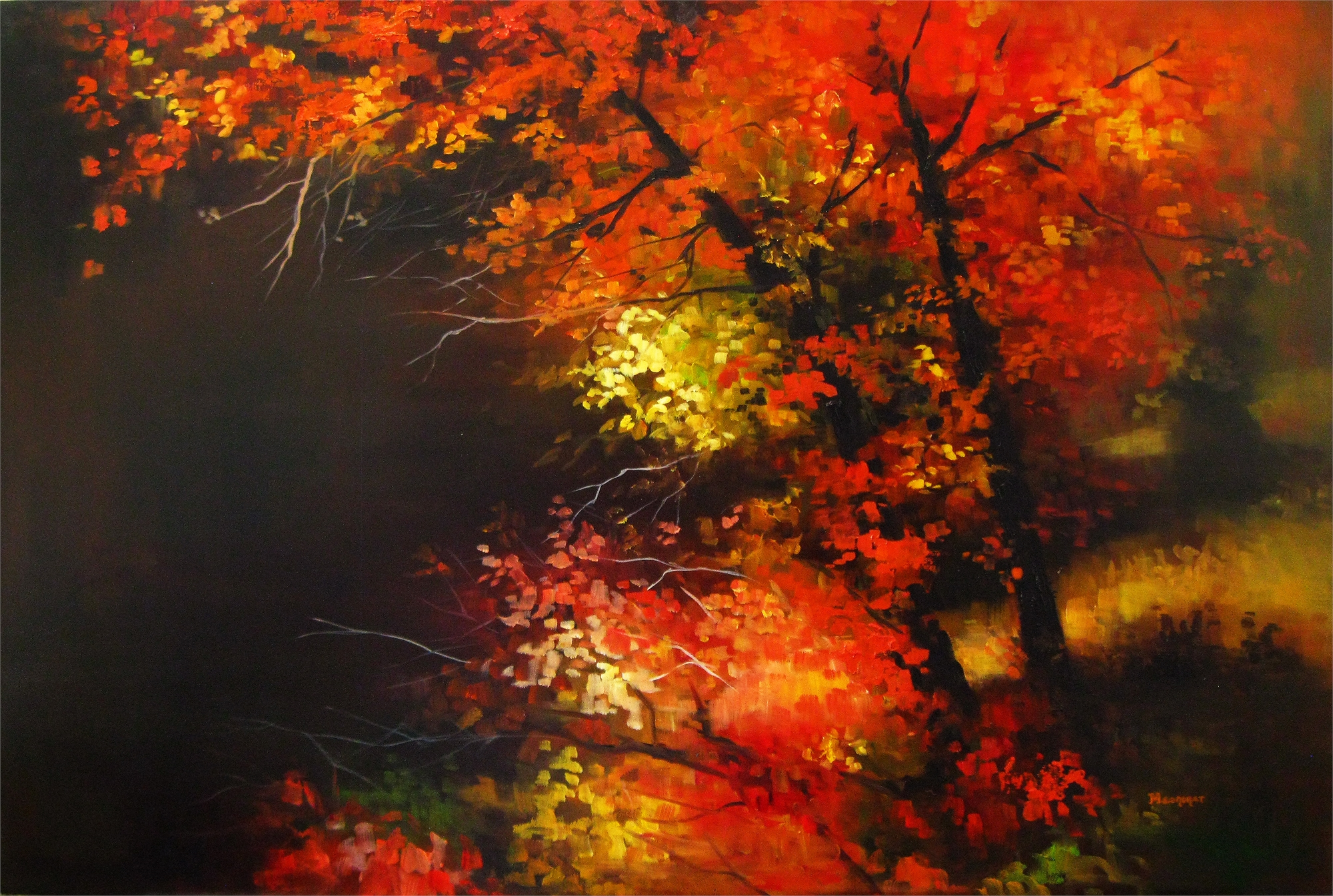 Autumn Flare by Michelle Condrat